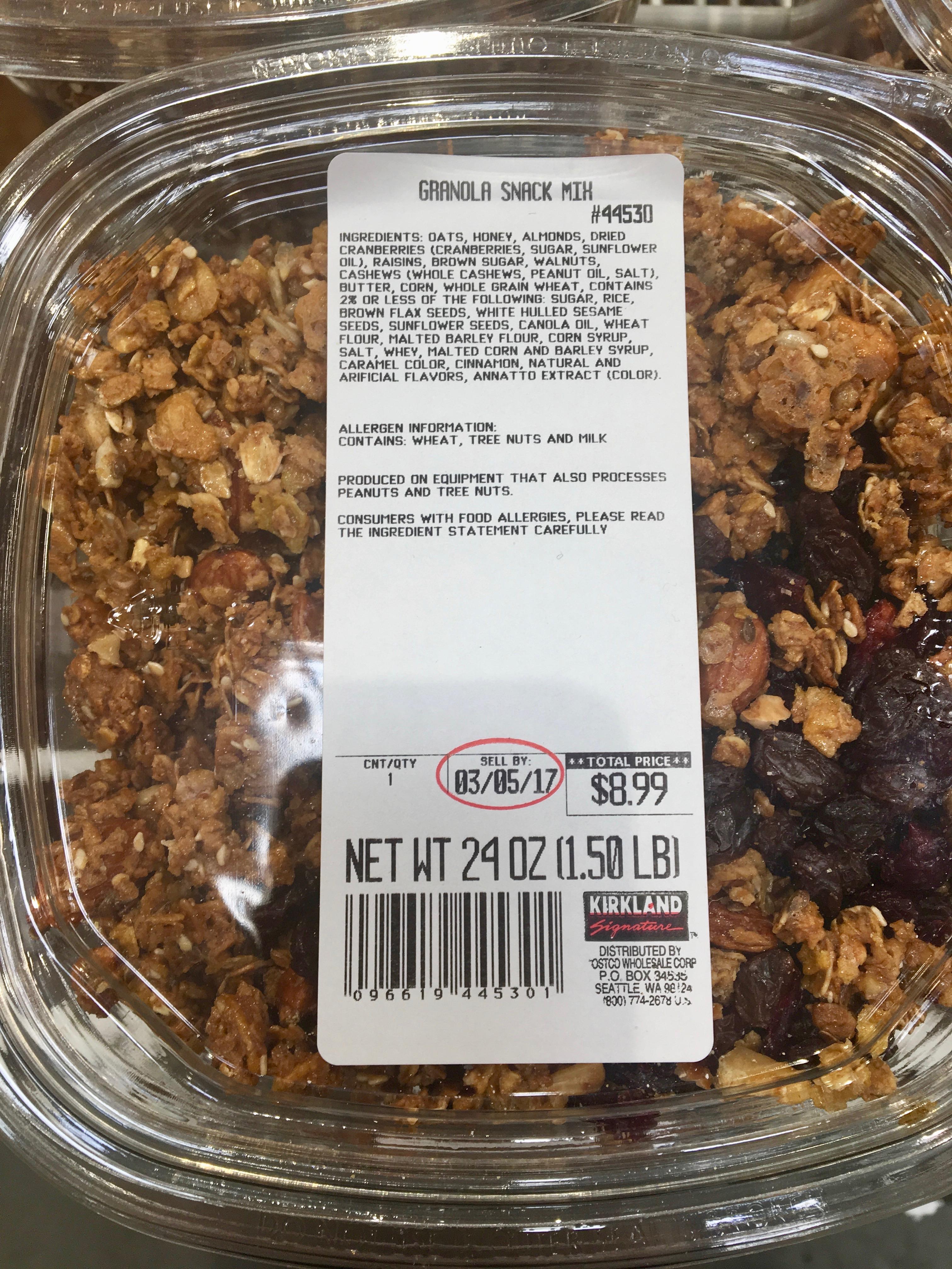 Healthy Snacks Costco - Kirkland | Kitchn
