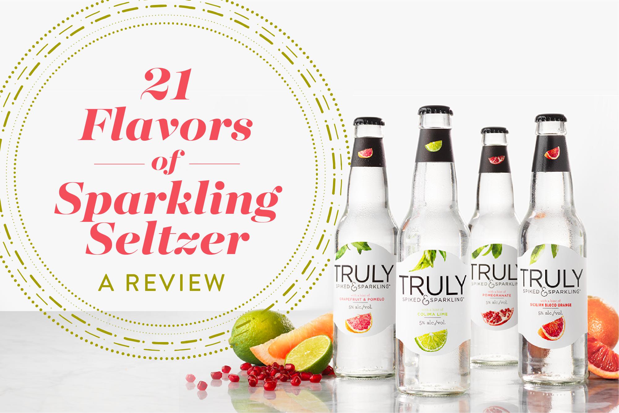 The Alcoholic Seltzer Taste Test | Kitchn
