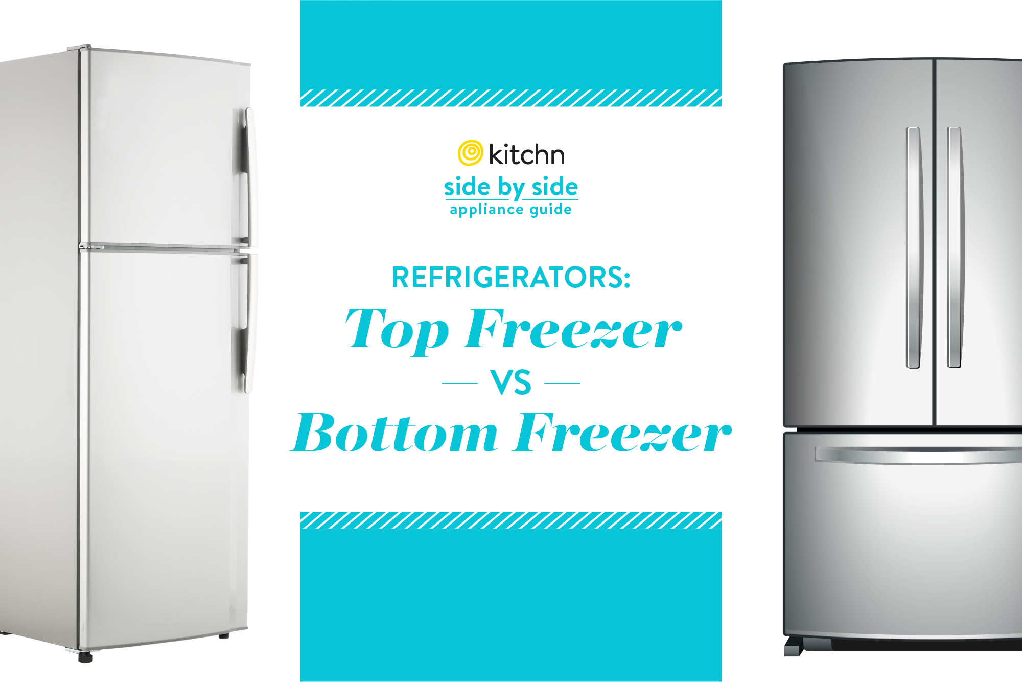 What's Better, a Top Freezer or a Bottom Freezer? | Kitchn