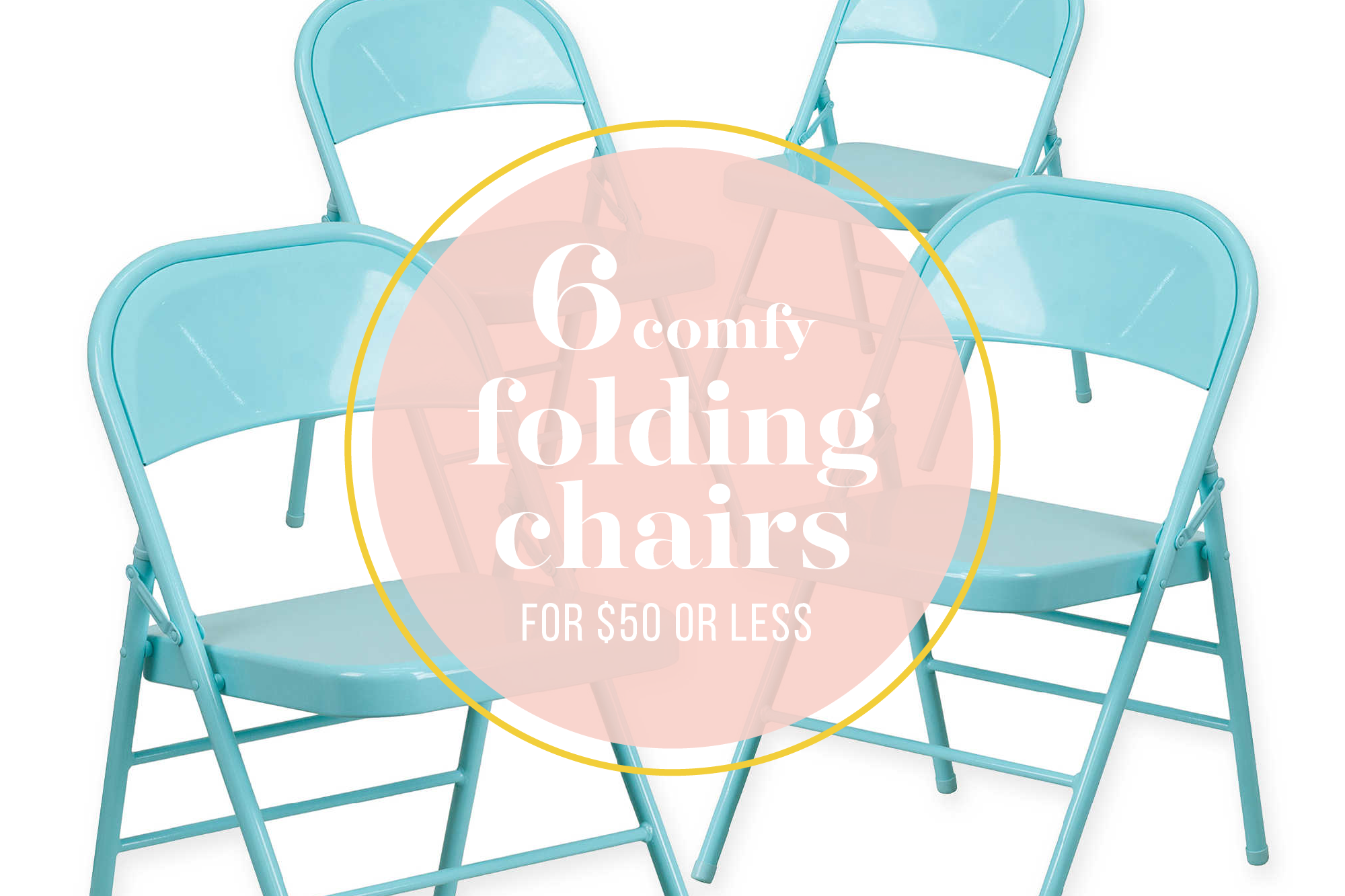 6 Budget-Friendly Folding Chairs Your Guests Wonu0027t Mind Sitting On  sc 1 st  Kitchn & 6 Budget-Friendly Folding Chairs   Kitchn