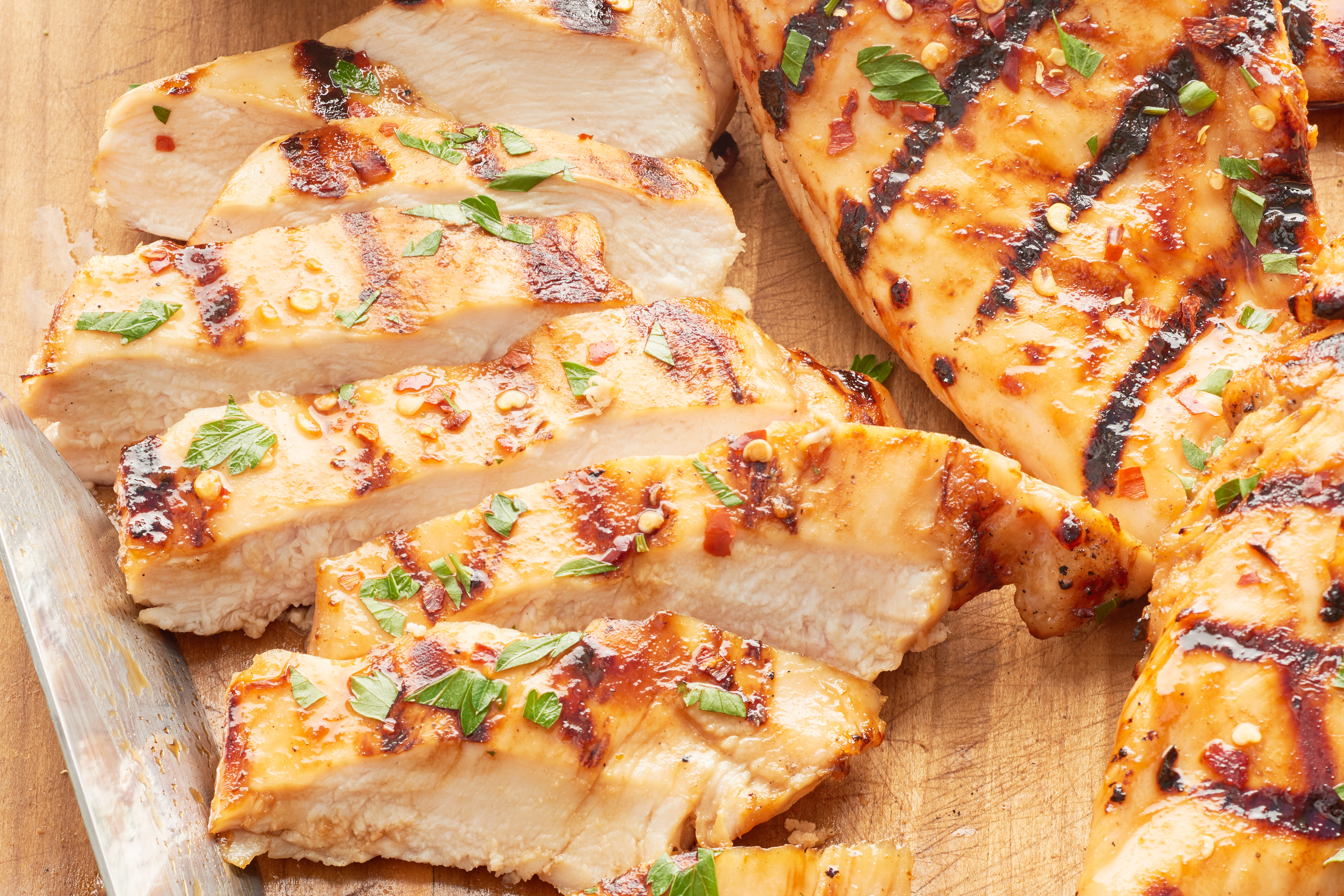 How To Make Juicy Flavorful Grilled Chicken Breast