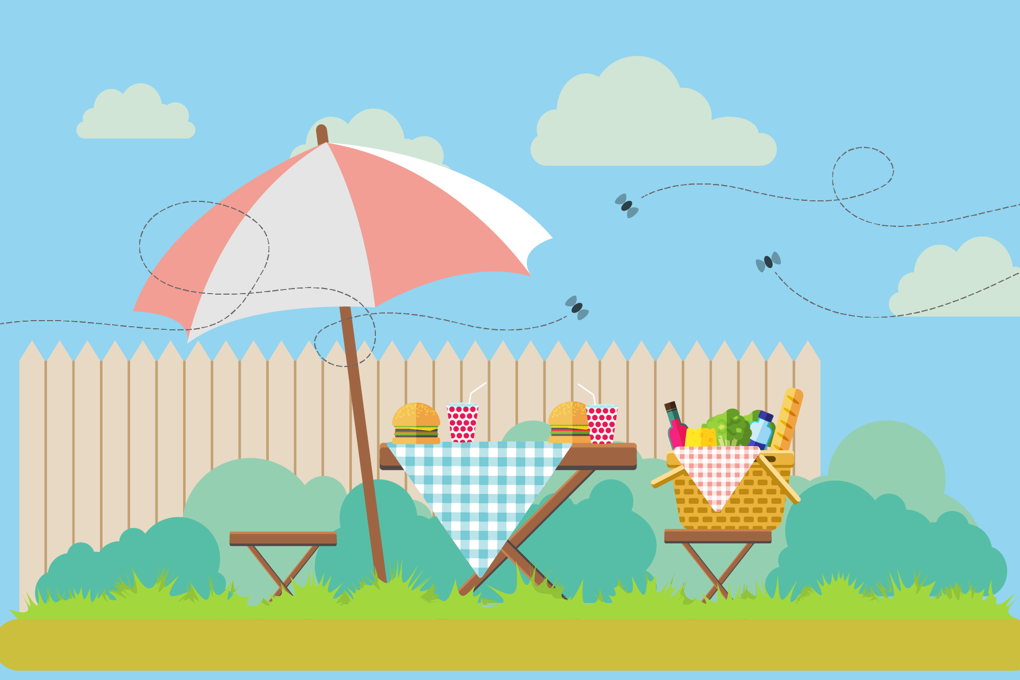 5 Ways To Keep Flies Away From Your Picnic