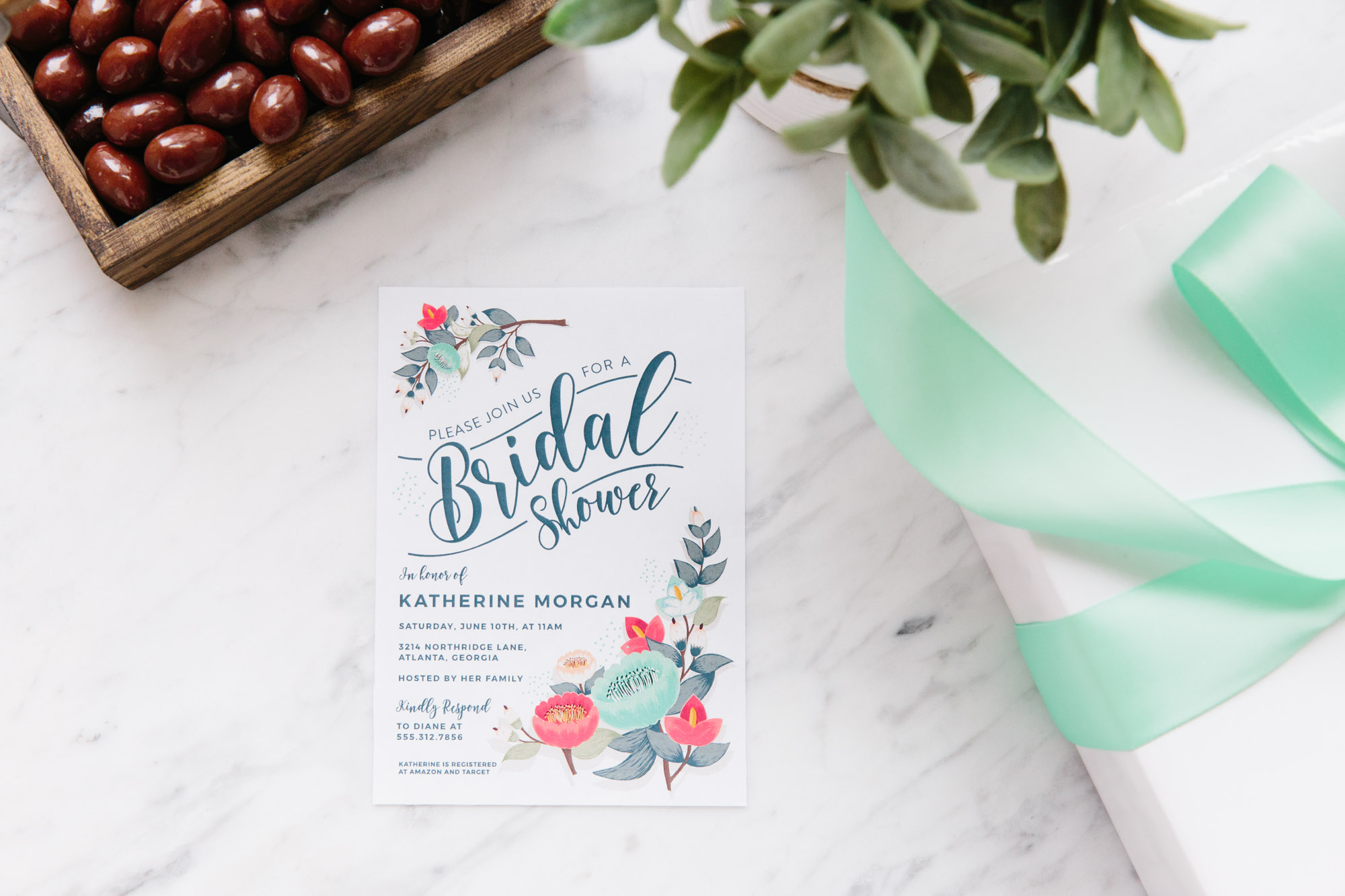 photograph about Printable Wedding Shower Invitations named Obtain a Totally free (and Cute) Bridal Shower Invitation Kitchn