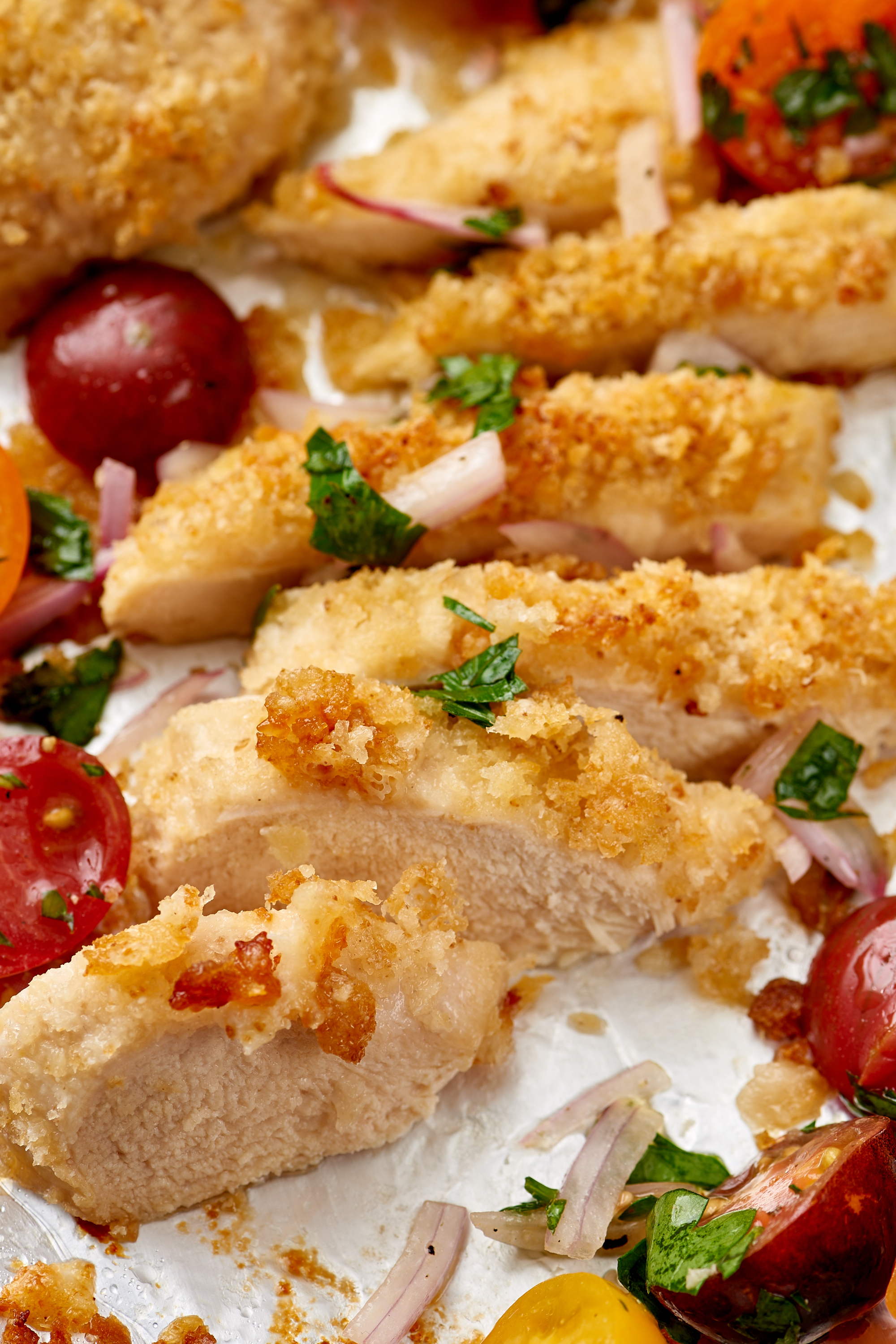 How long does it take to bake partially frozen chicken breast
