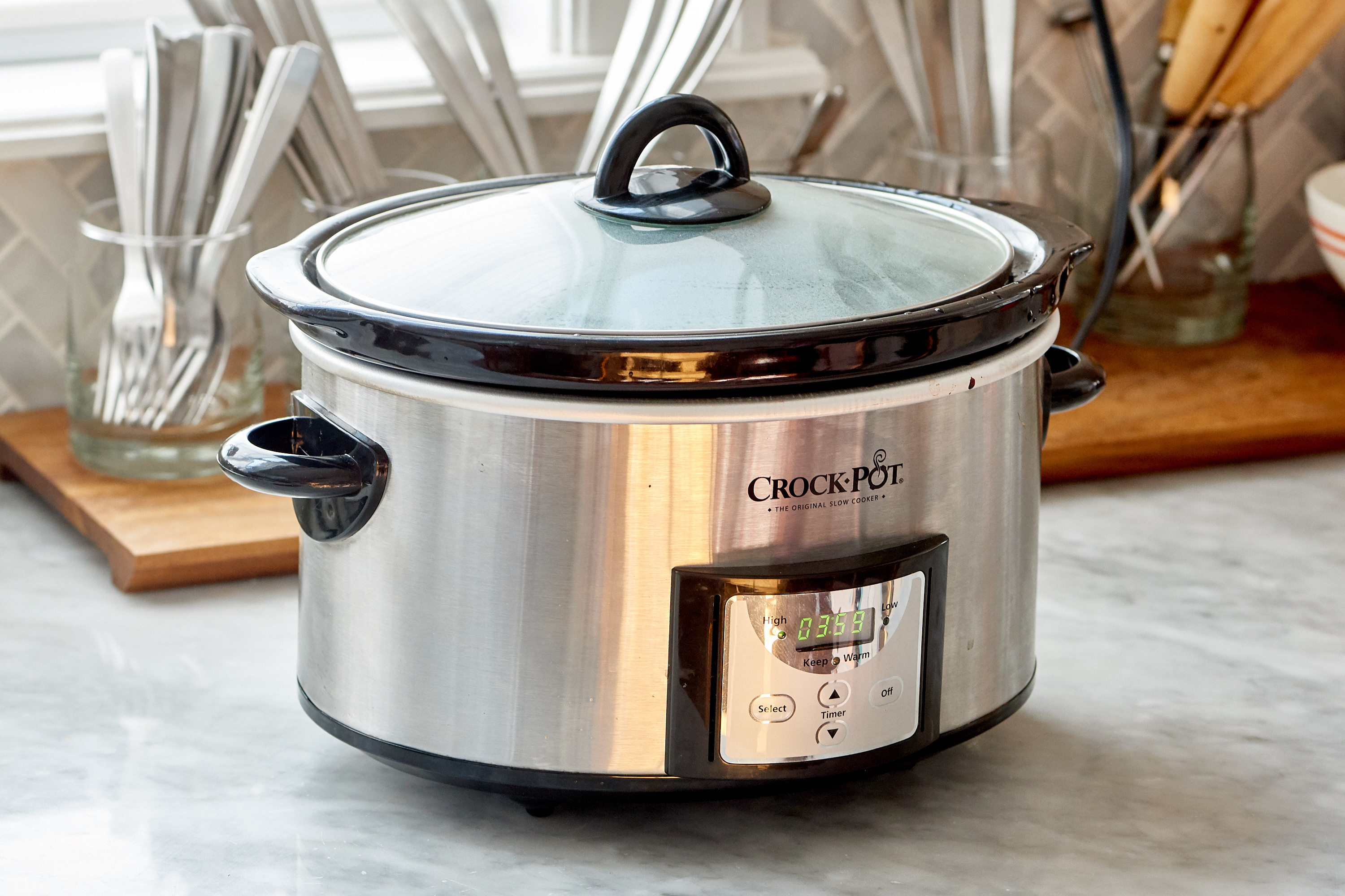 The Smartest Place To Set Up A Slow Cooker Kitchn