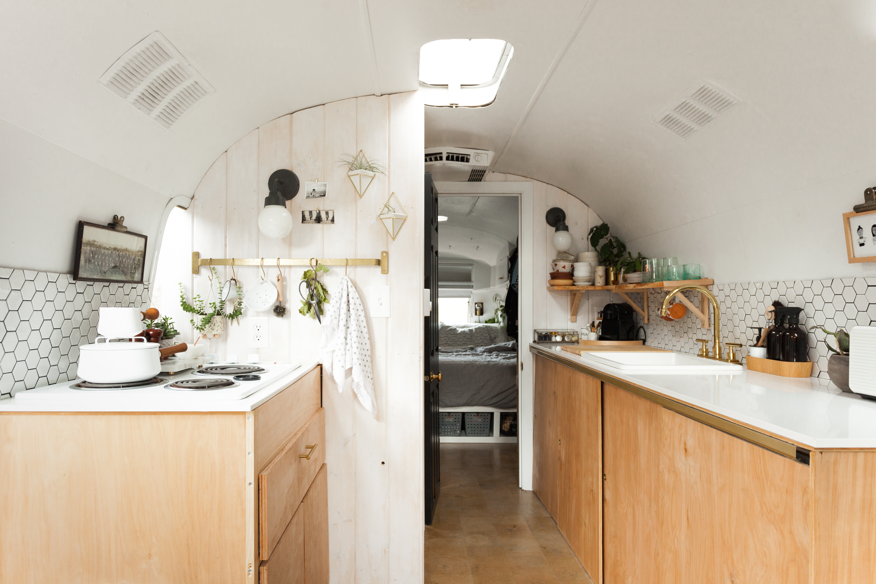 7 Storage Ideas to Steal from This Airstream Kitchen | Kitchn