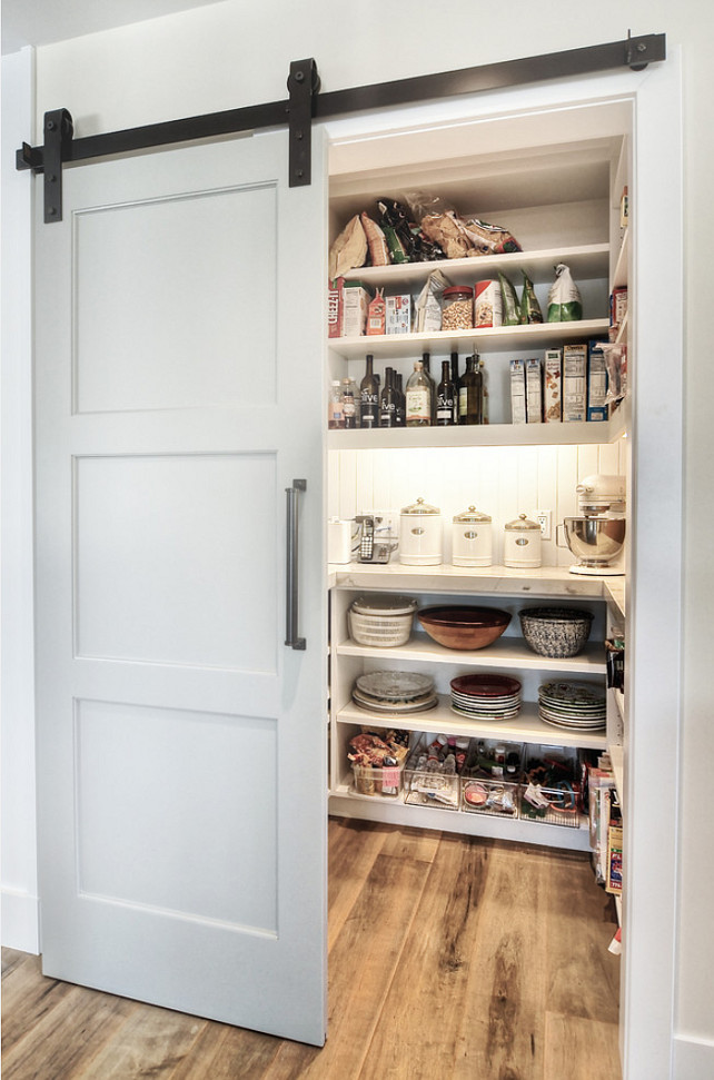 5 Extremely Cool Pantries with Barn Doors | Kitchn