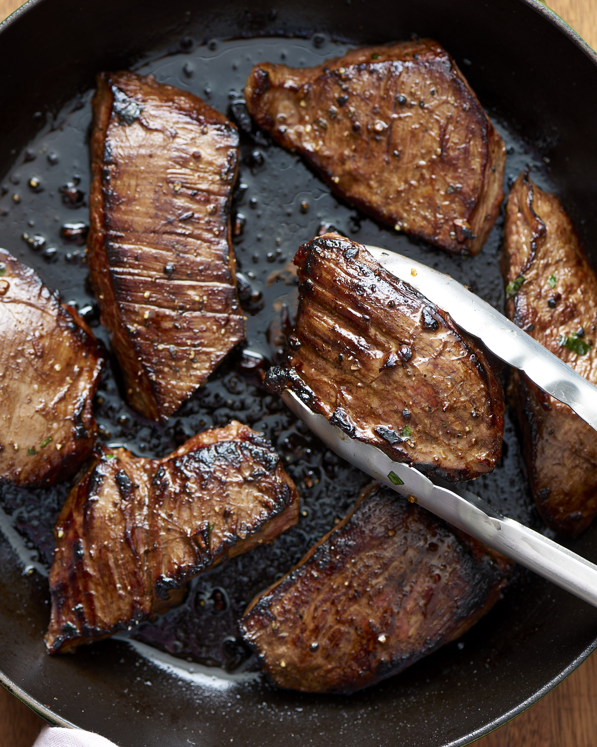 How long do you cook marinated steak tips on the grill