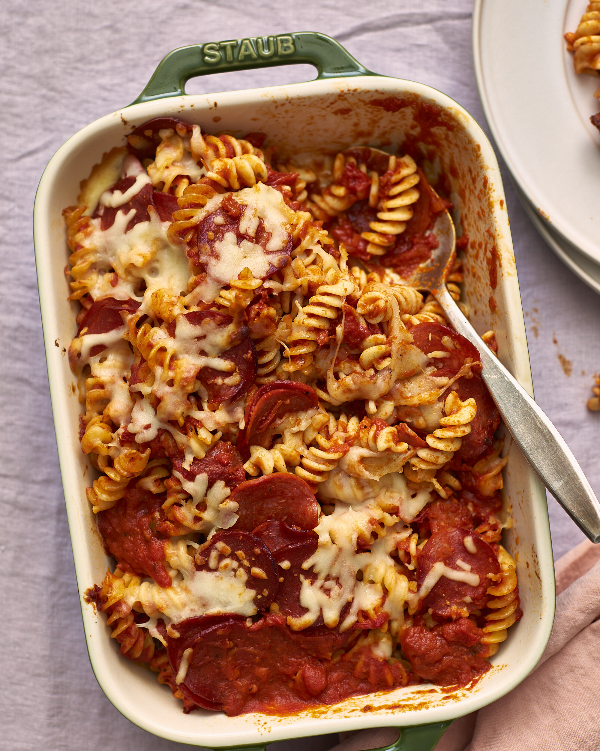 Recipe Pepperoni Pizza Baked Pasta Kitchn