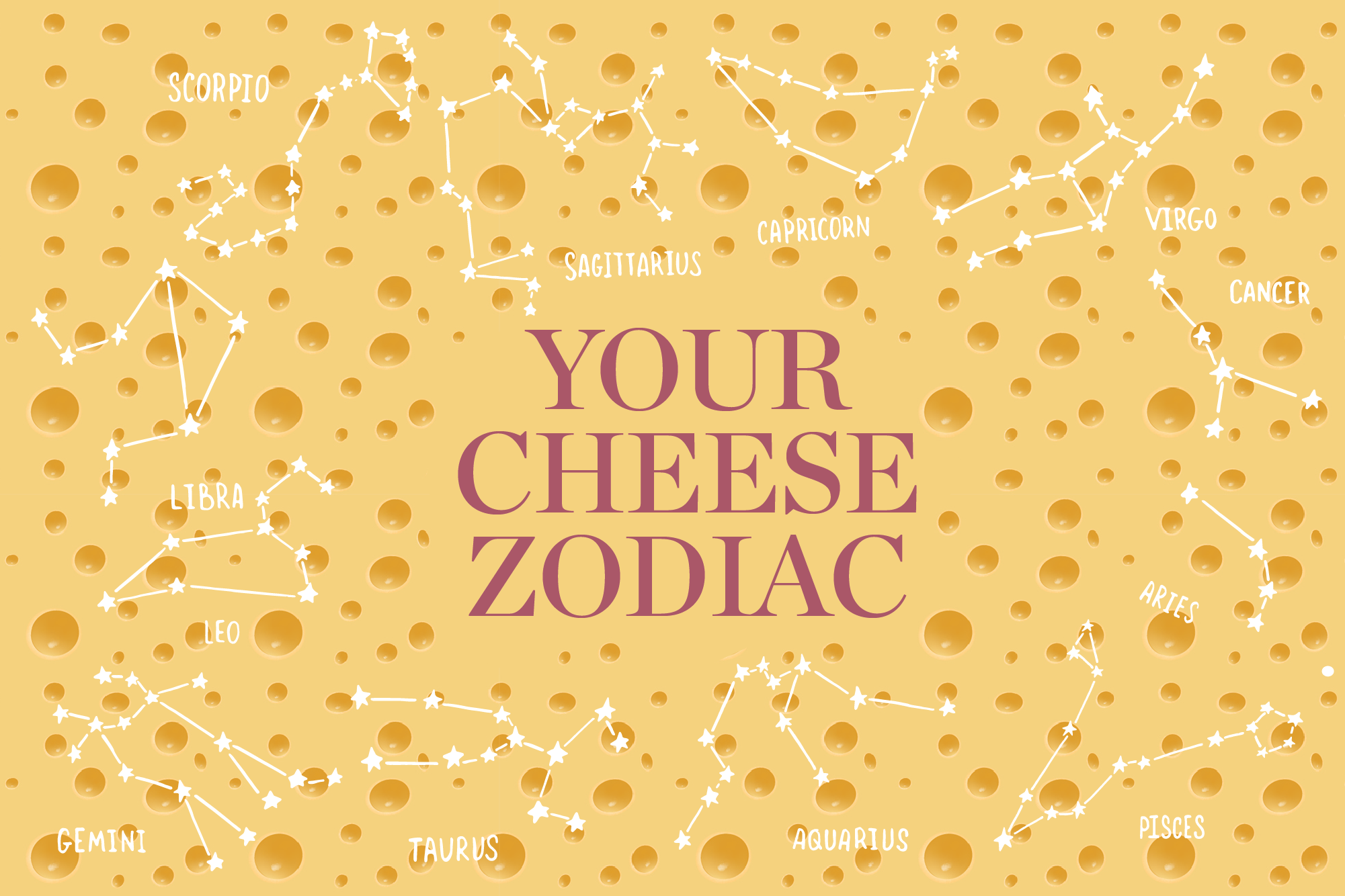 The Best Cheese for Your Zodiac Sign   Kitchn