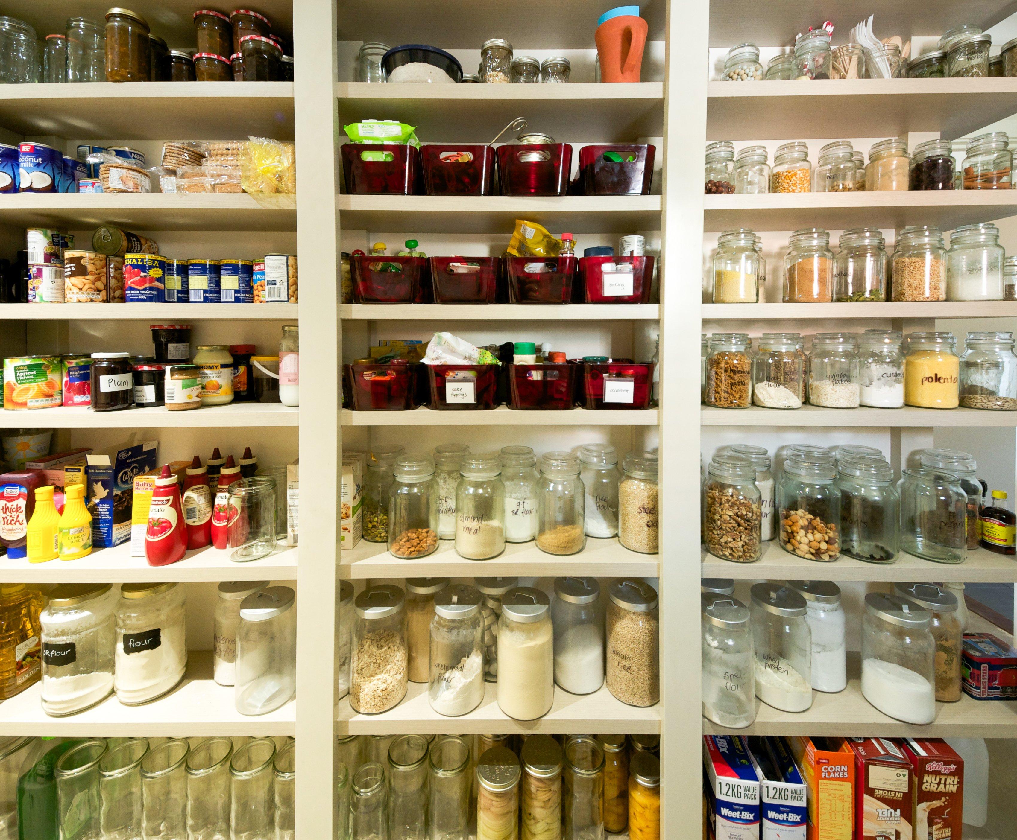 8 Smart Storage Ideas For Little Pantries Kitchn