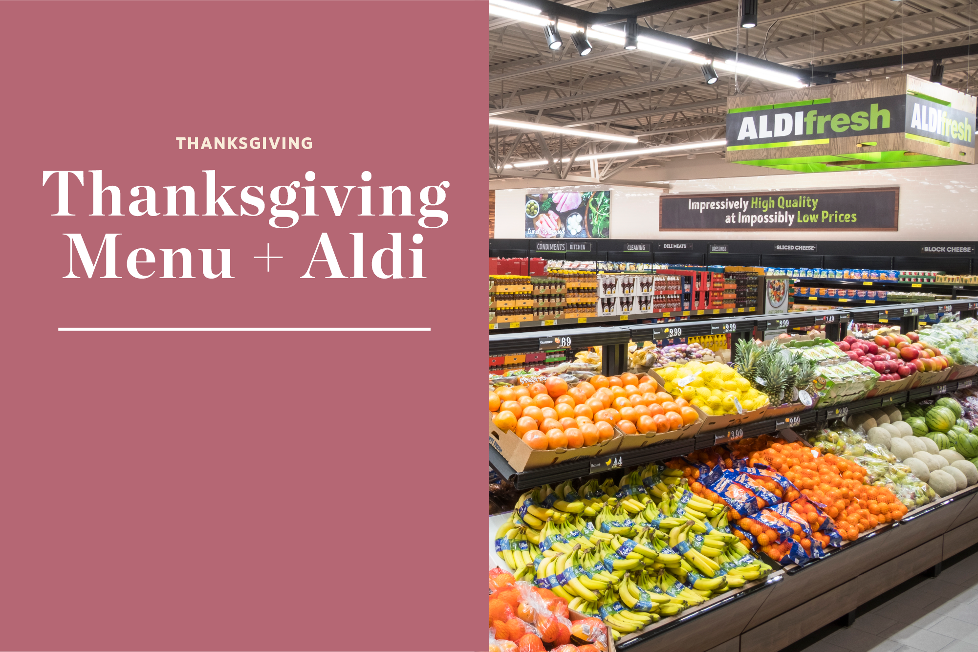 Here's How Much Thanksgiving Dinner Costs at Aldi   Kitchn