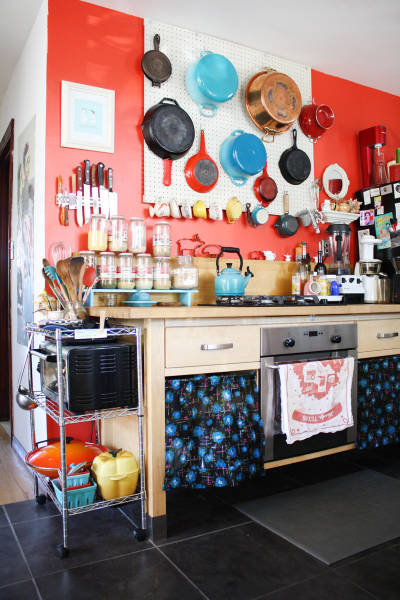 8 Kitchens That Make Clutter Look Good | Kitchn