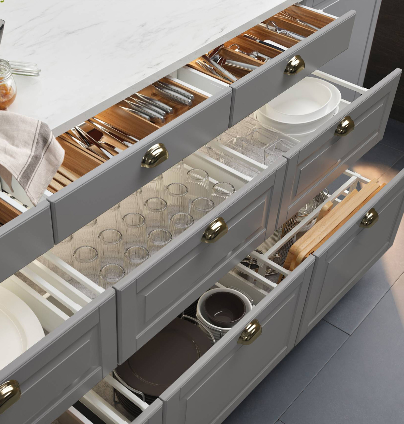 Why You Should Replace Kitchen Cabinets With Drawers | Kitchn