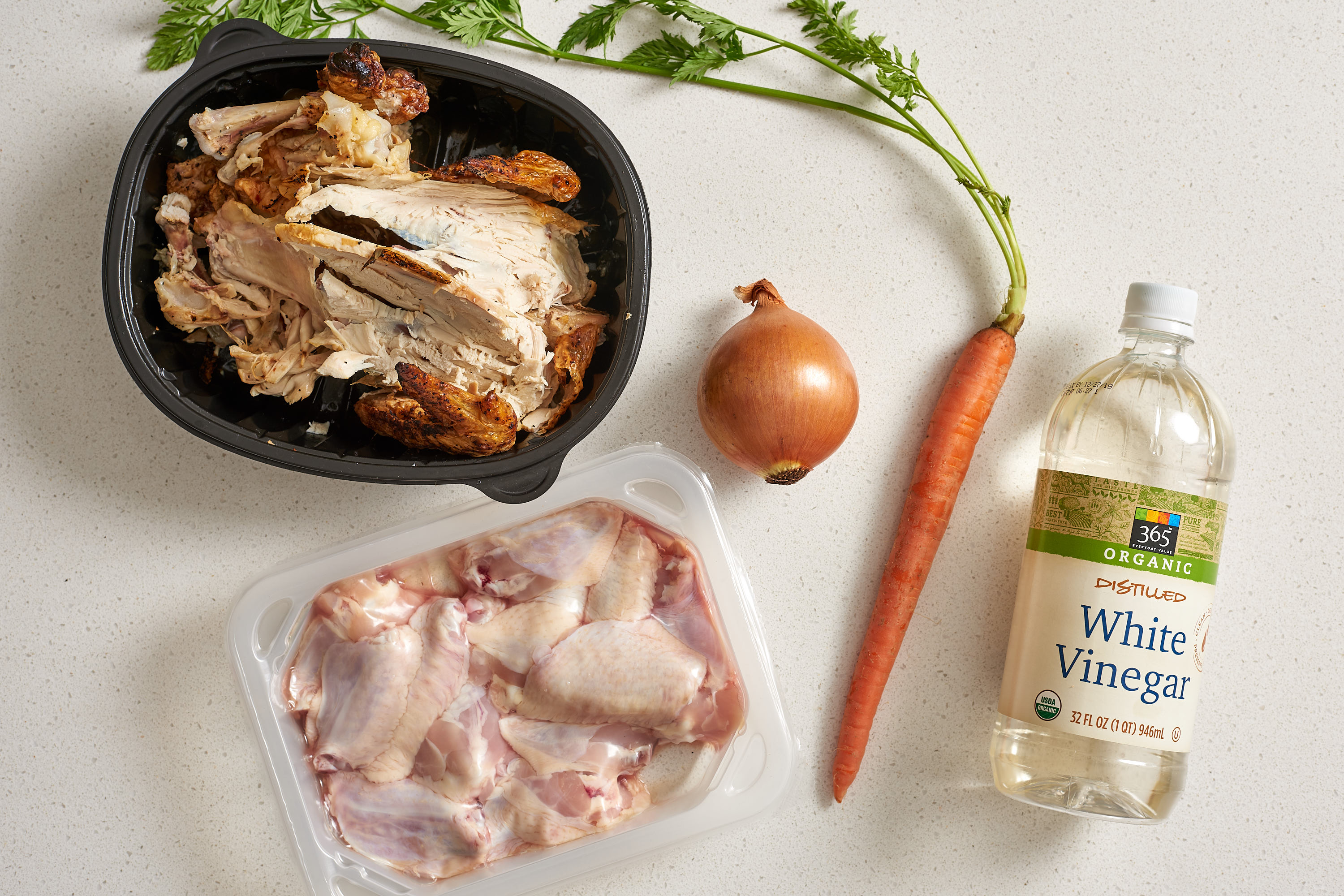 How To Make Chicken Bone Broth - Stovetop and Slow Cooker