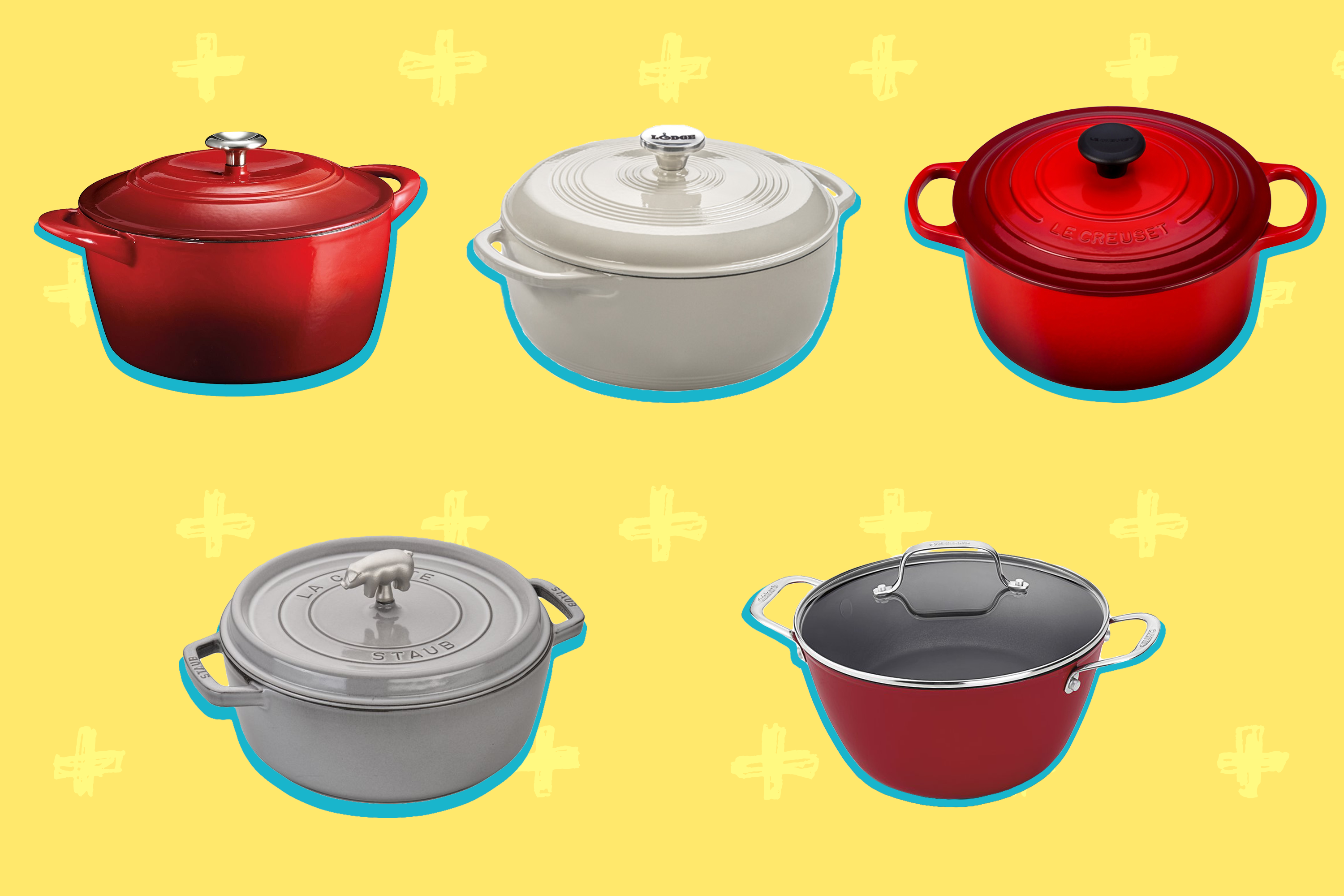 Pros And Cons Le Creuset Versus Staub Dutch Oven Kitchn