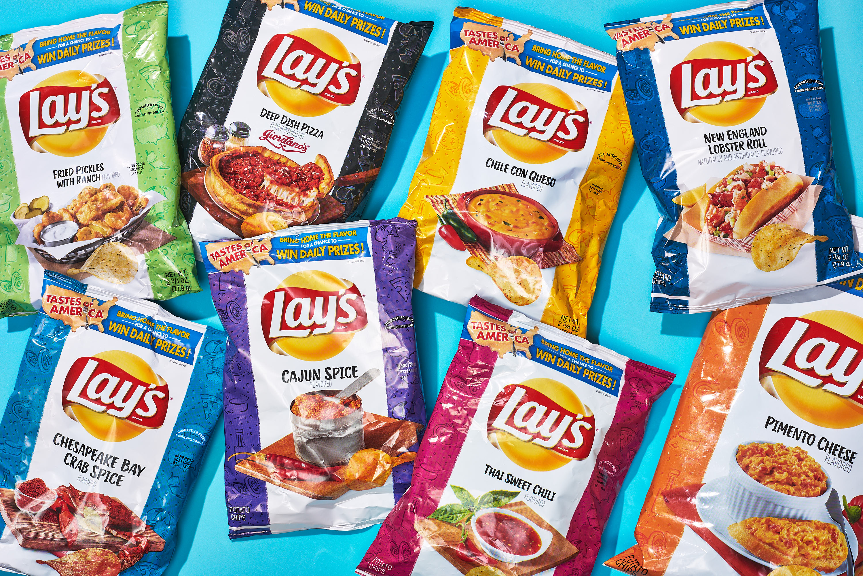 We Tried the 8 New Flavors of Lay's Potato Chips | Kitchn
