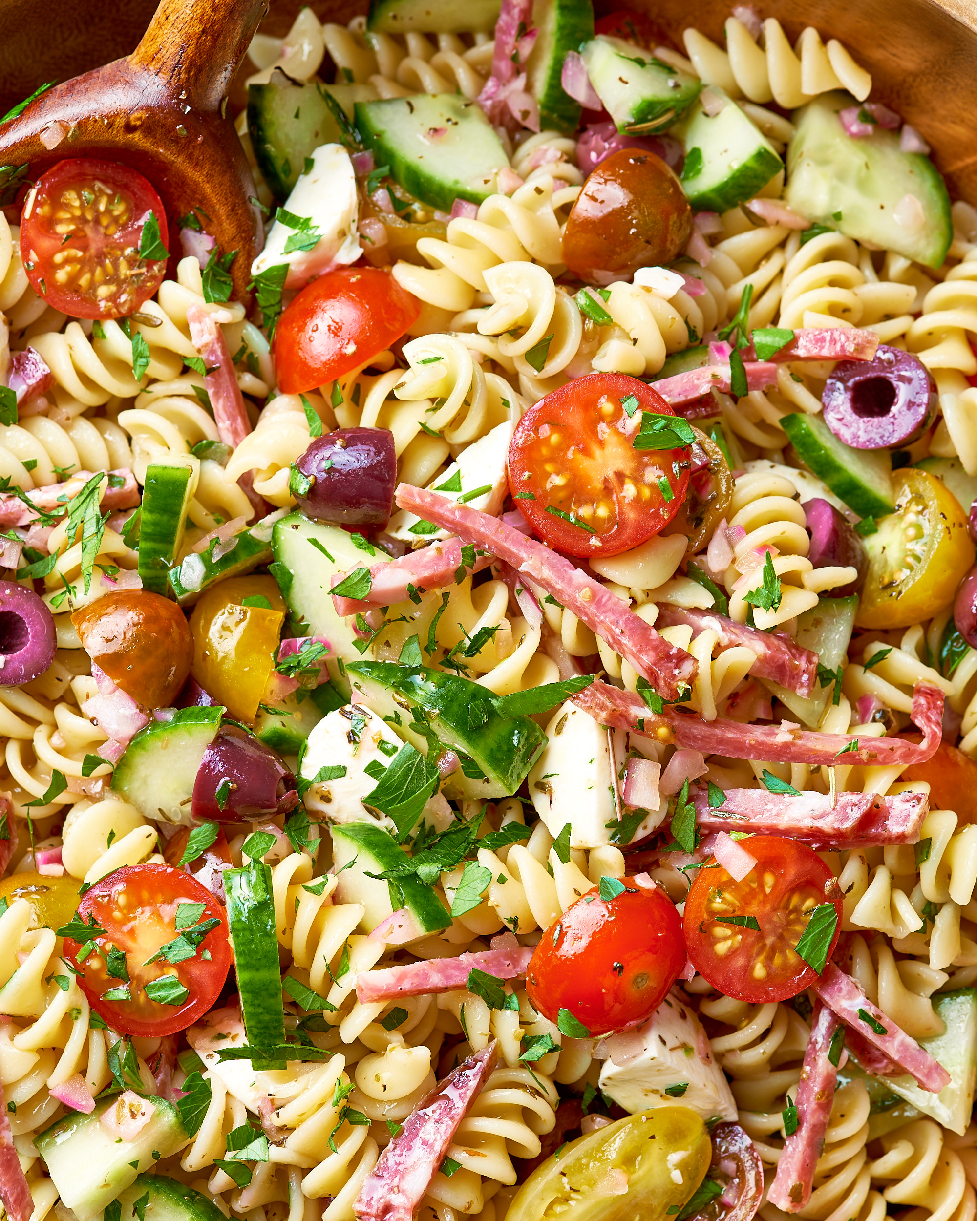 How To Make Easy Italian Pasta Salad Kitchn