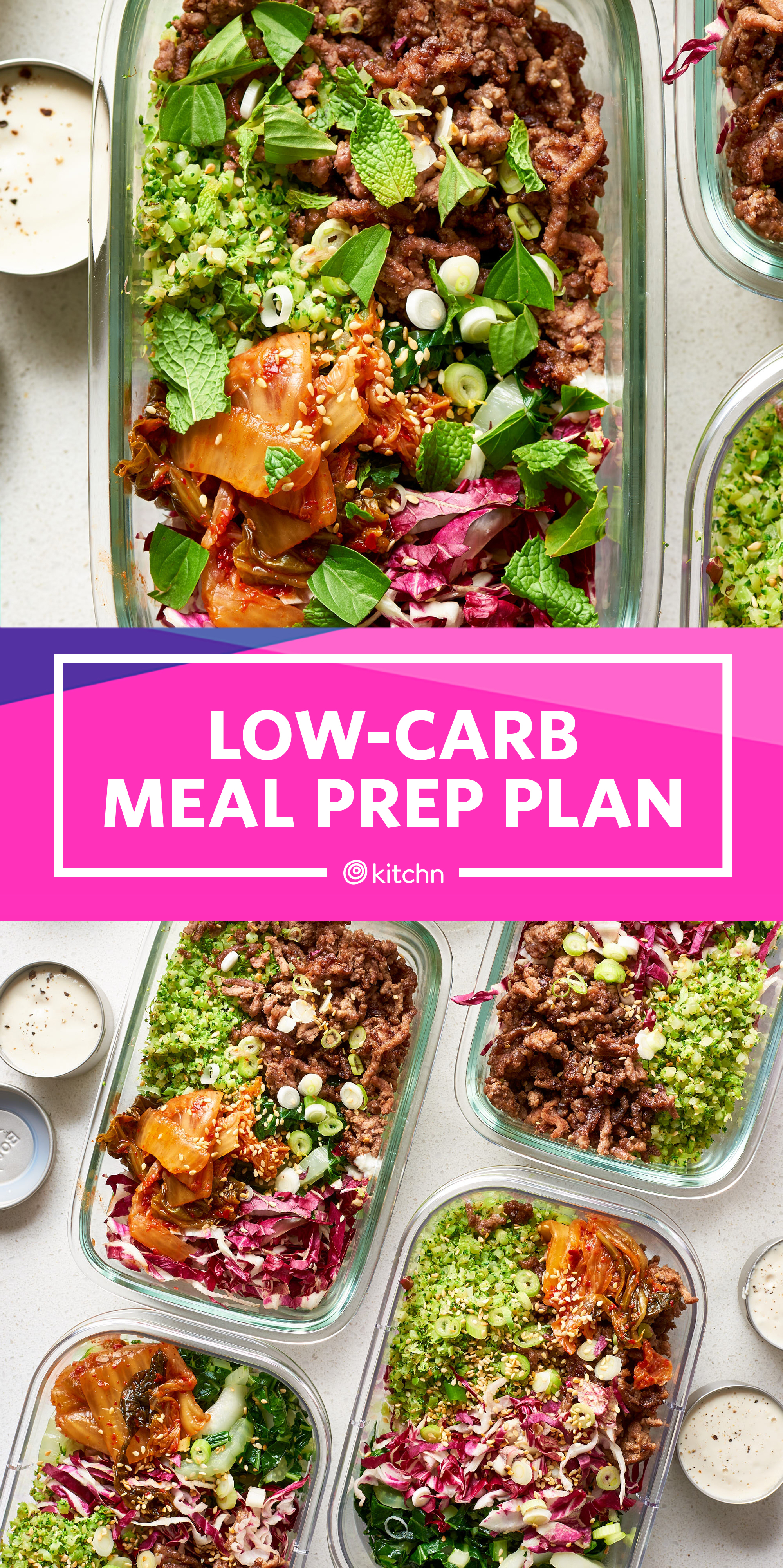 Low-Carb Meal Prep: A Week of Meals | Kitchn