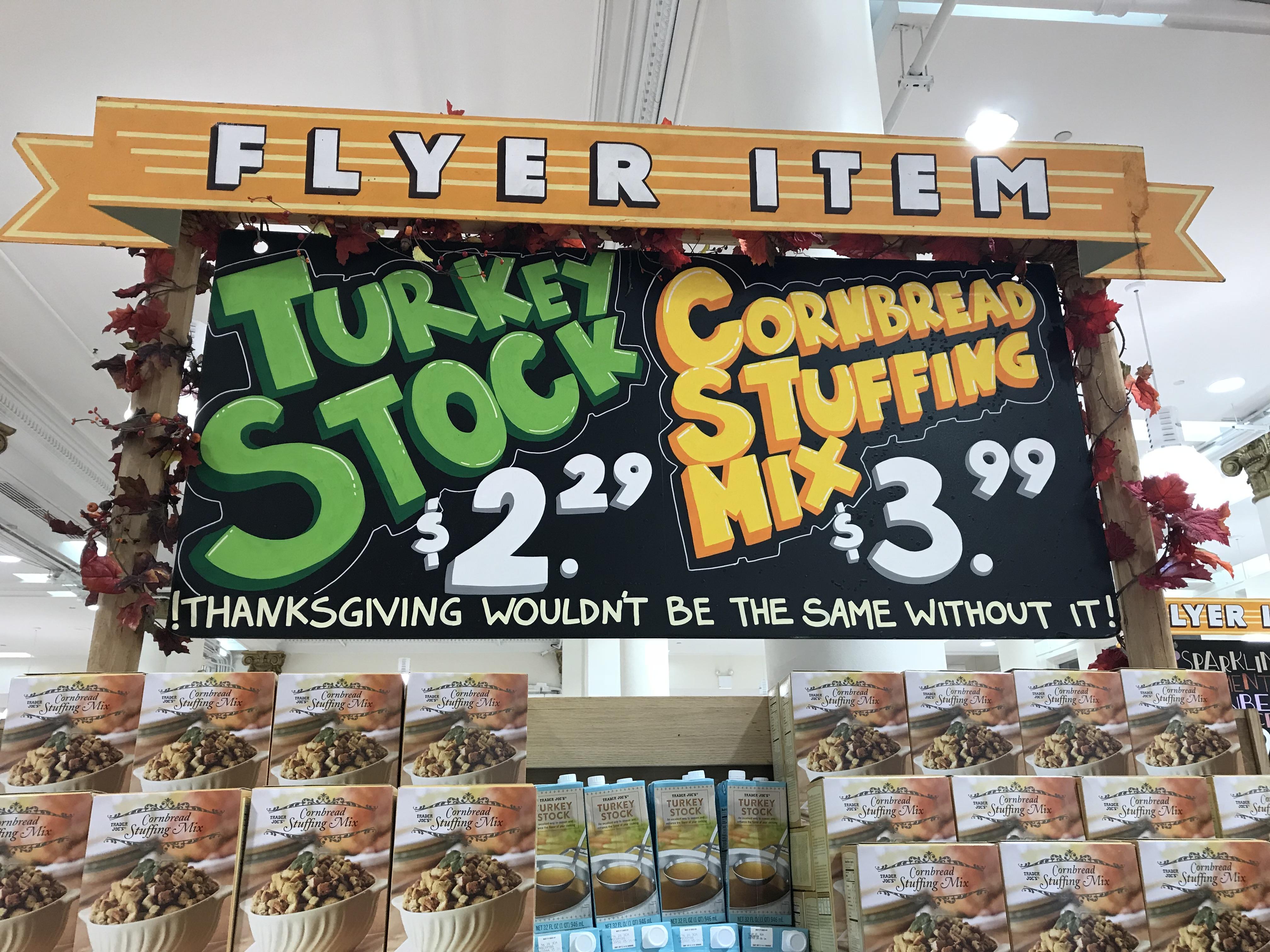 Trader Joes Thanksgiving Food Reviews Turkey Cranberries Kitchn