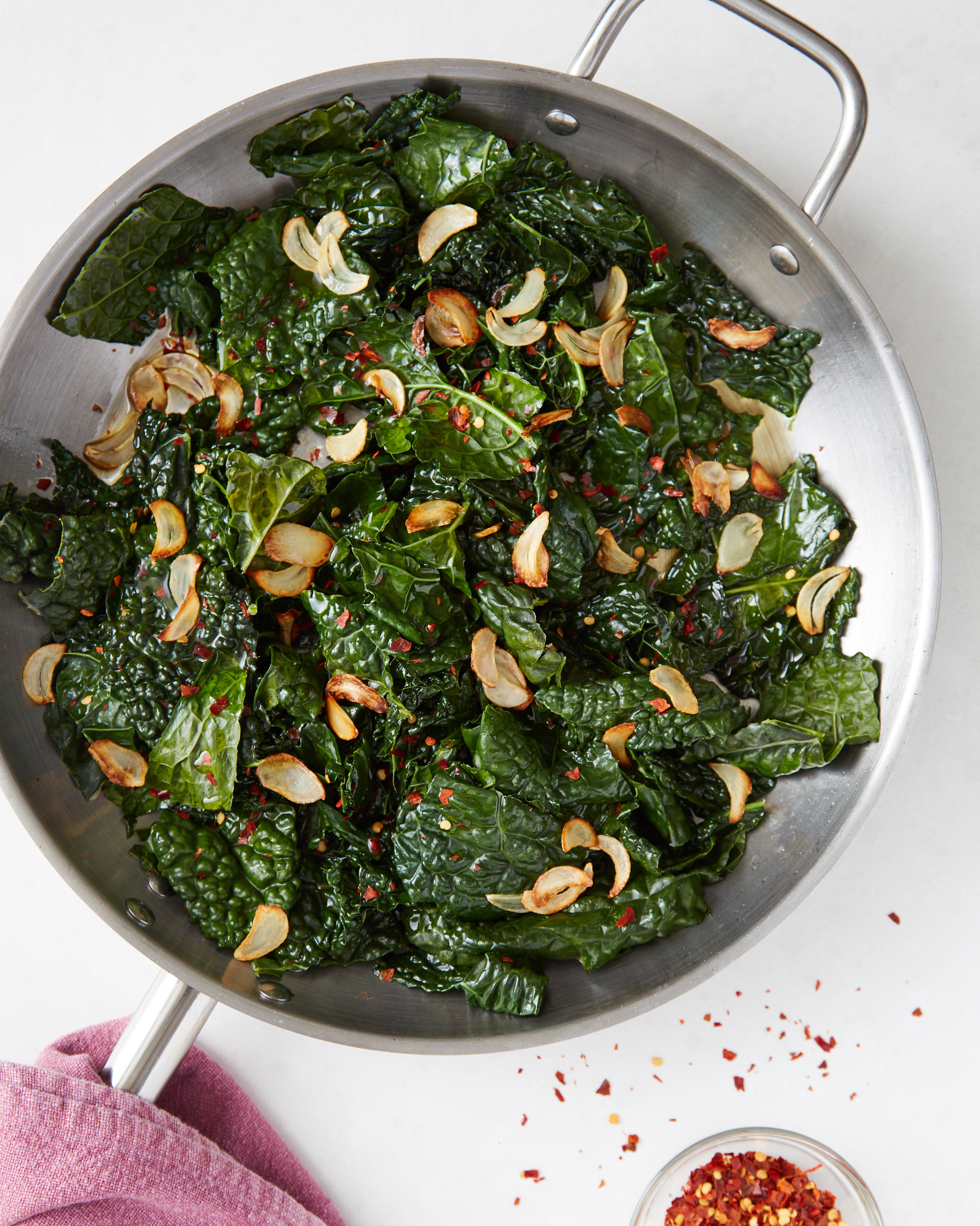 How To Cook Kale Easy Sauteed Kale Recipe Kitchn