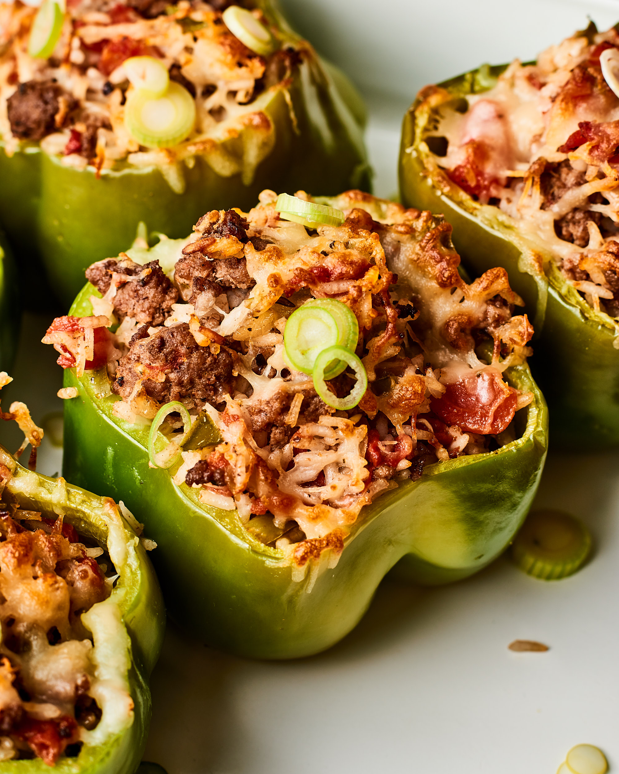 how to reheat stuffed peppers