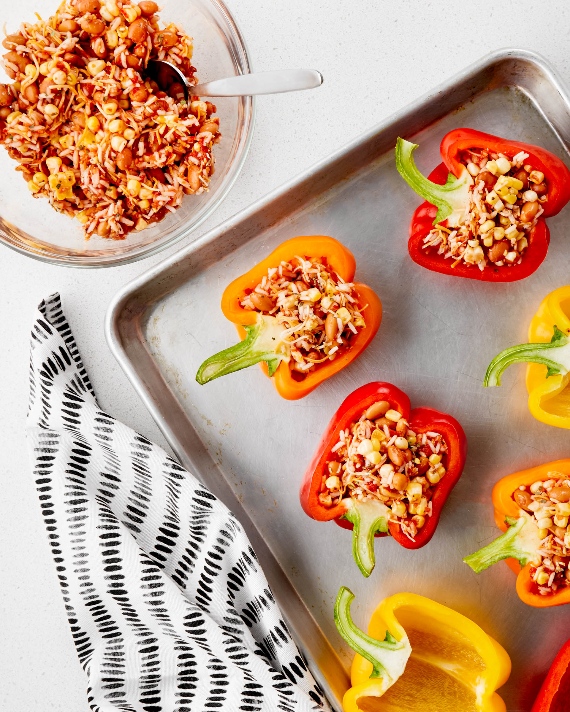 Recipe: Mexican-Style Meatless Stuffed Peppers