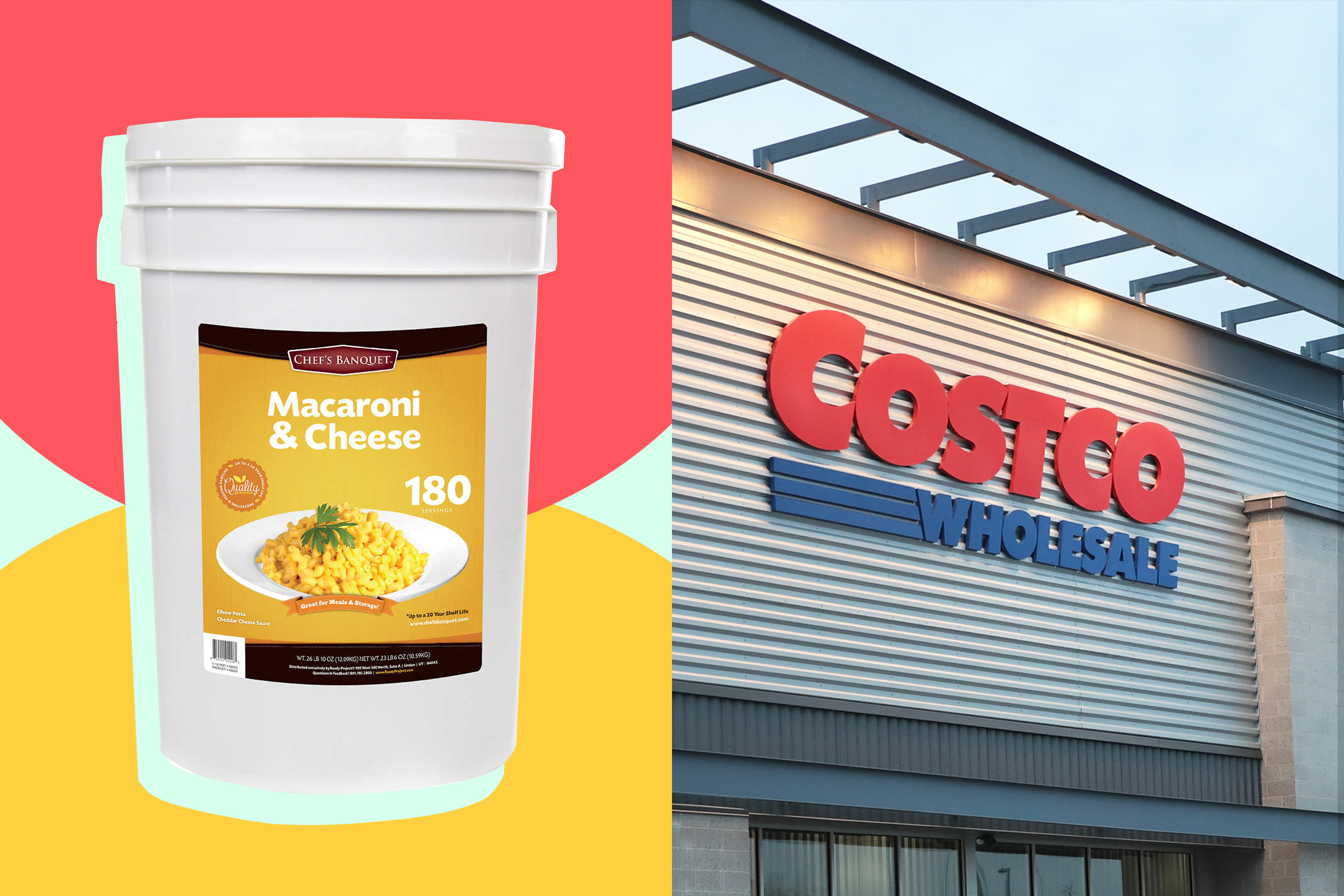 Costco Sells a 27-Pound Bucket of Macaroni and Cheese | Kitchn