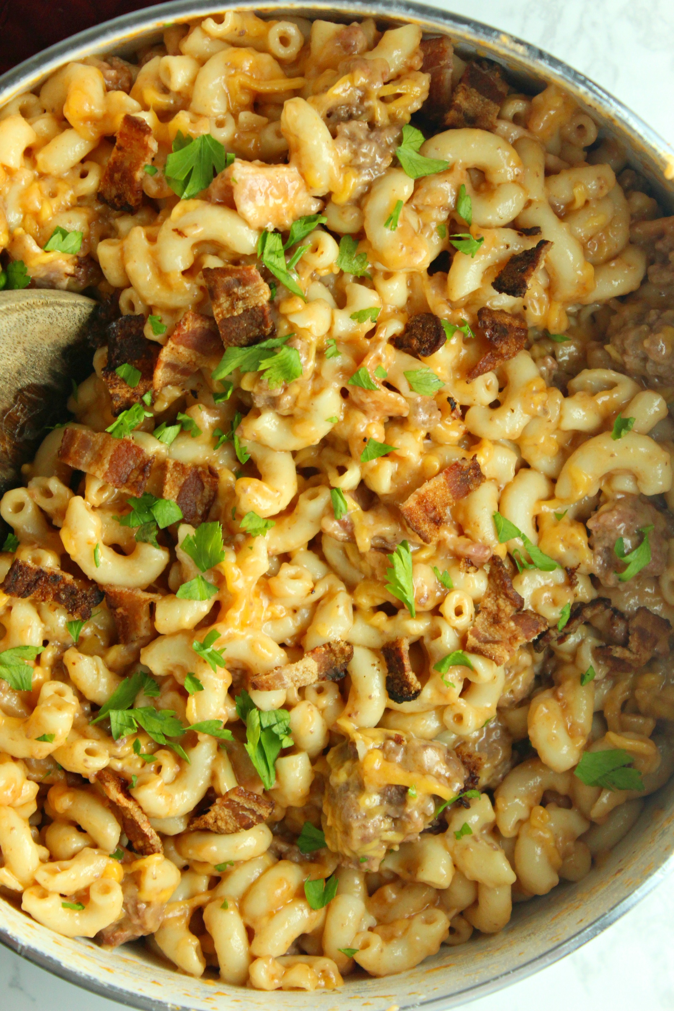 Bacon Cheeseburger Pasta Is the Perfect Comfort Food