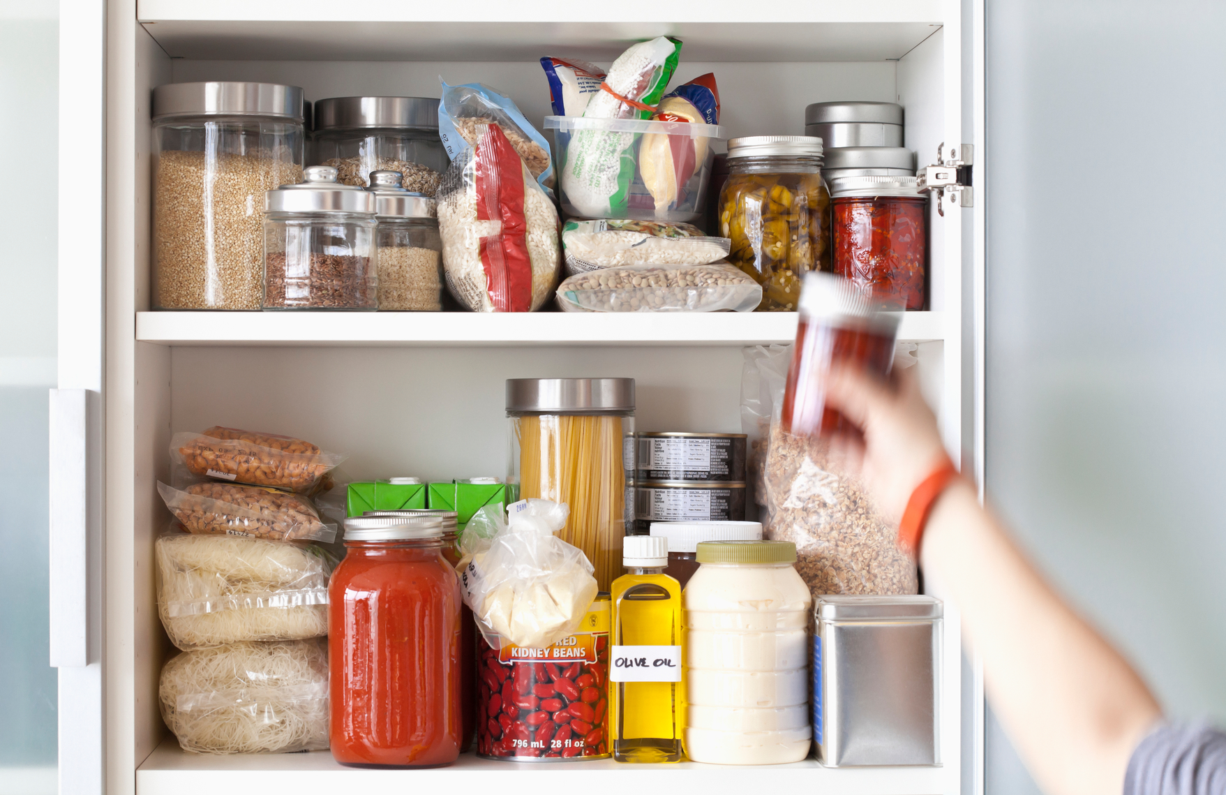 8 Inexpensive Ways to Double Your Kitchen's Shelf Space