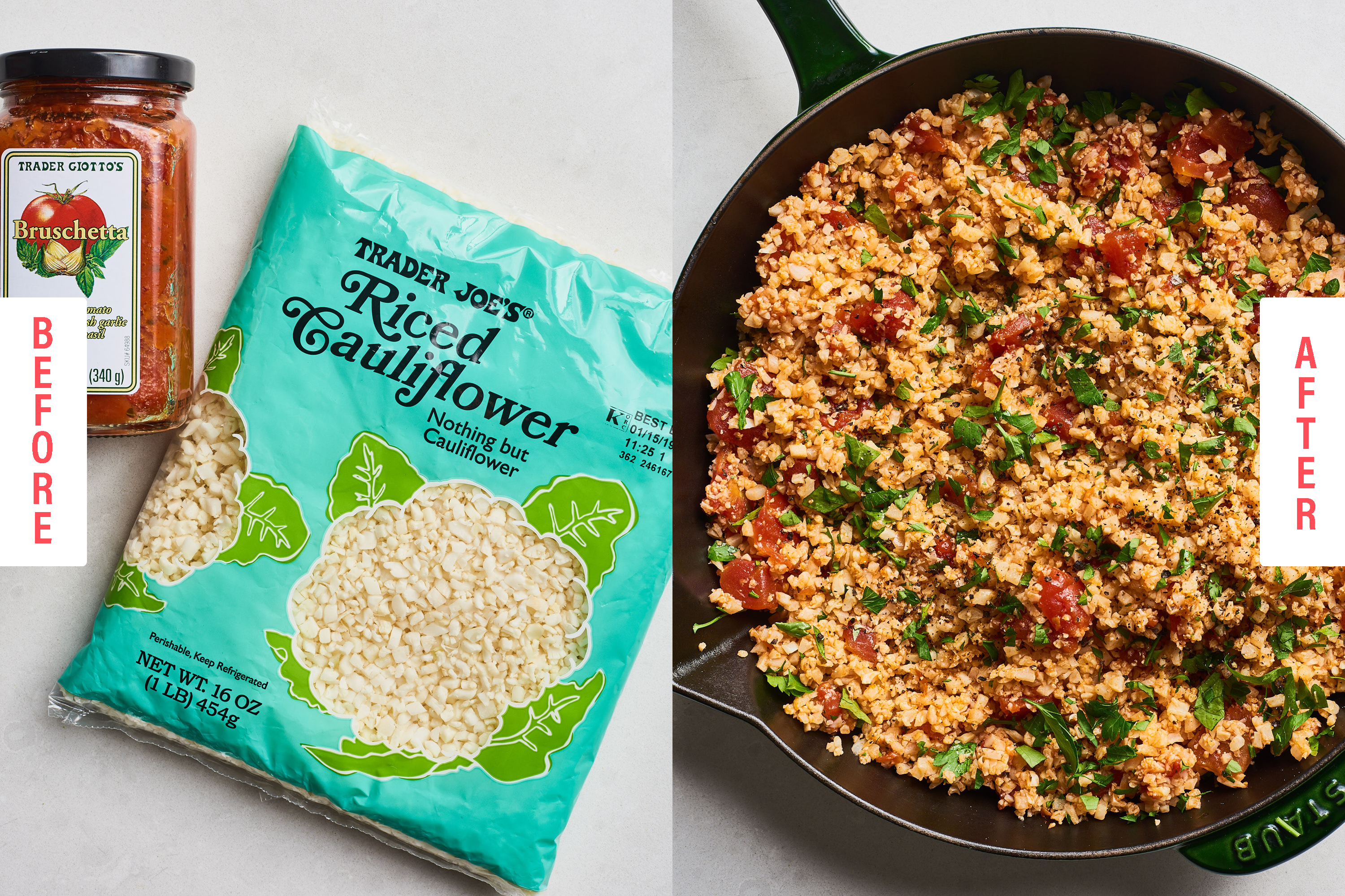 The Easiest (and Tastiest) Ways to Upgrade Trader Joe's Cauliflower Rice