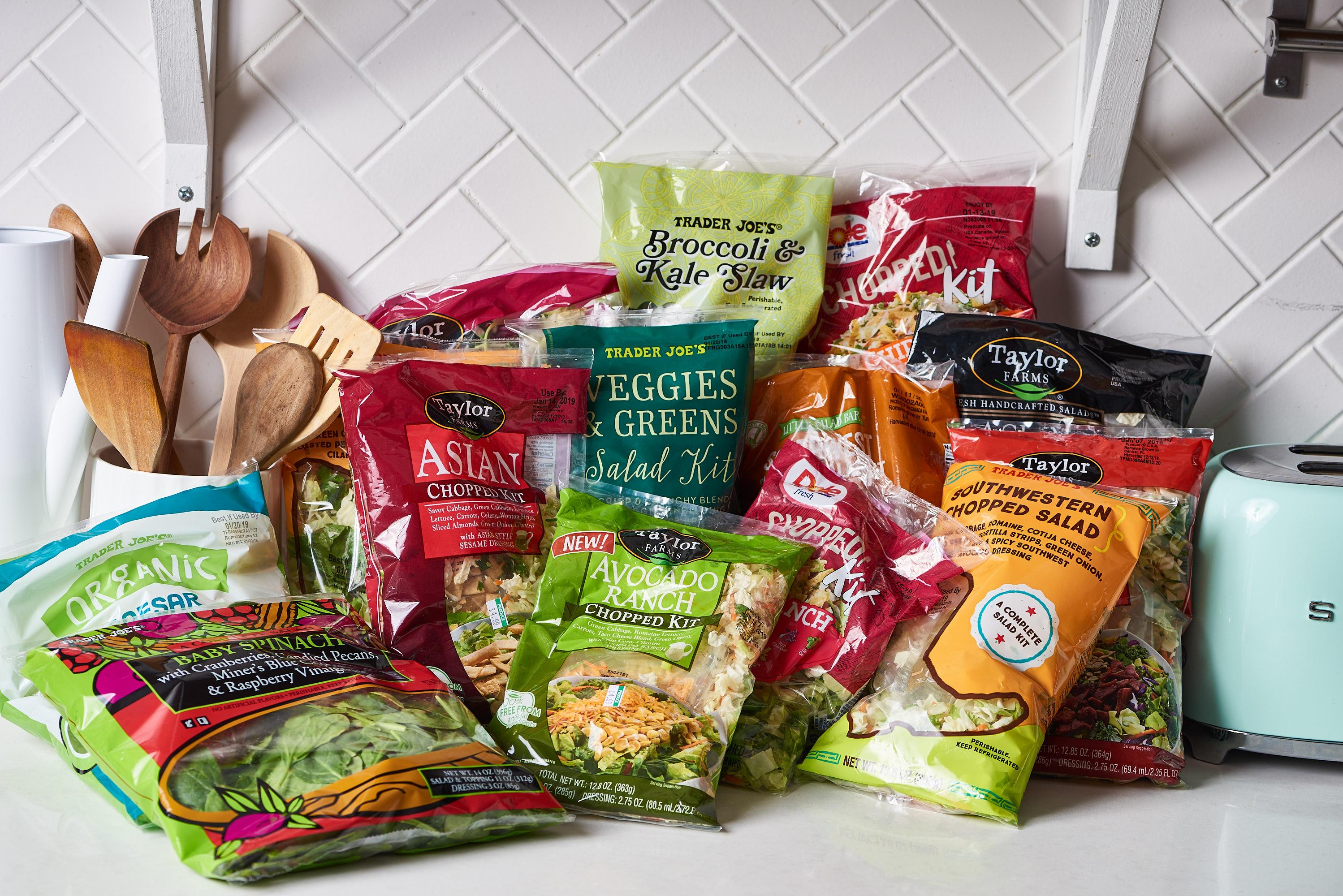 Best Salad Kits - Dole, Earthbound Farms   Kitchn