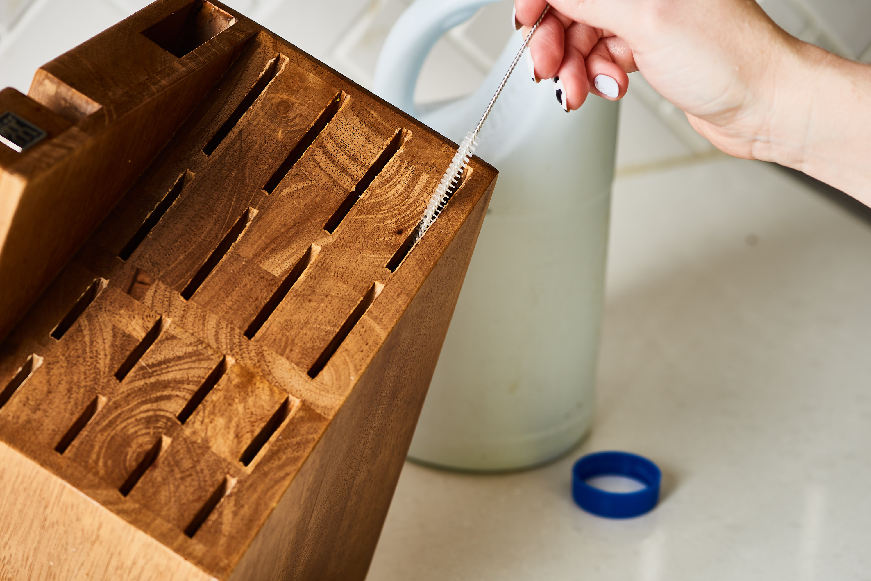 How To Clean a Wooden Knife Block | Kitchn
