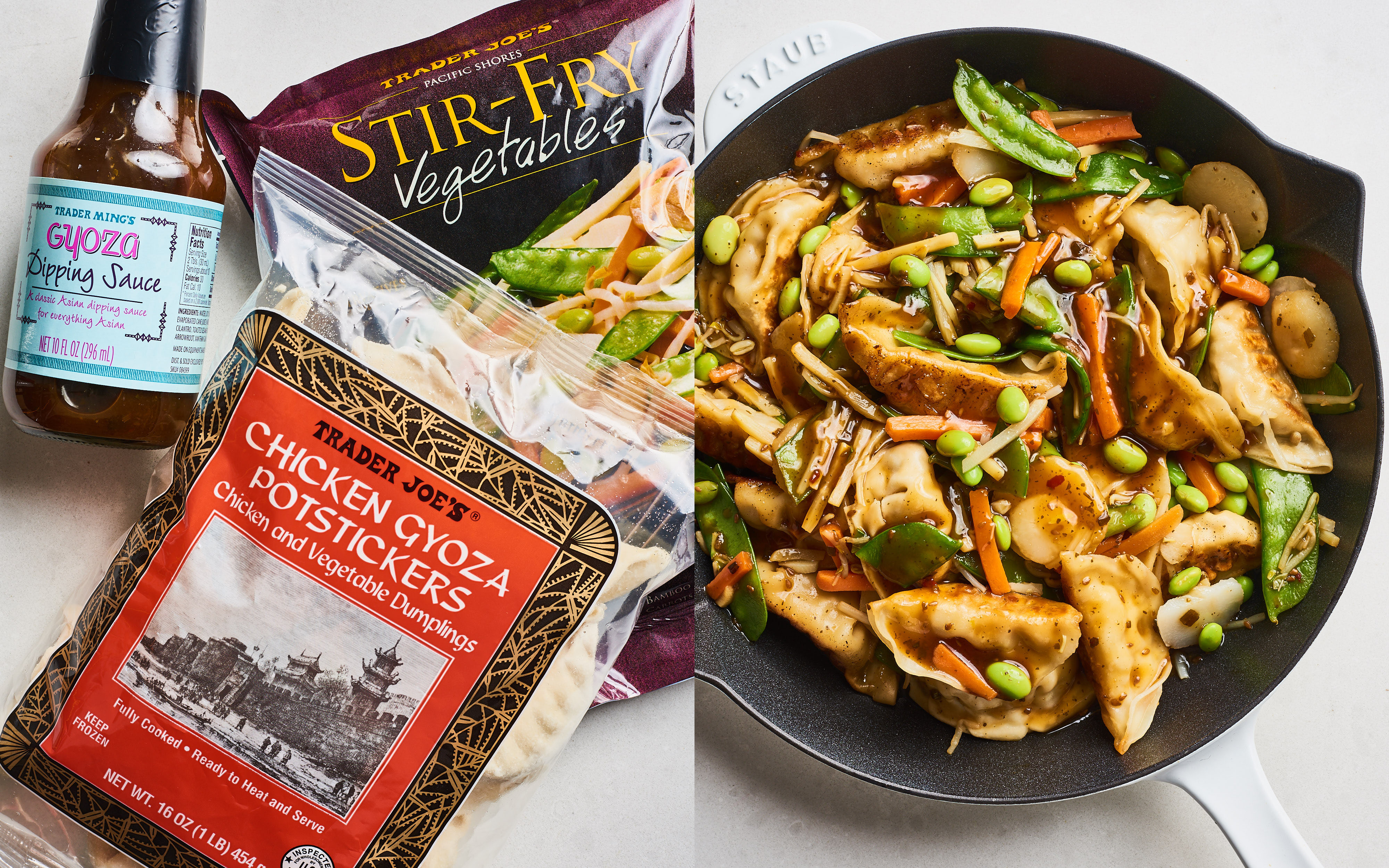 Trader Joe's Potsticker Stir-Fry