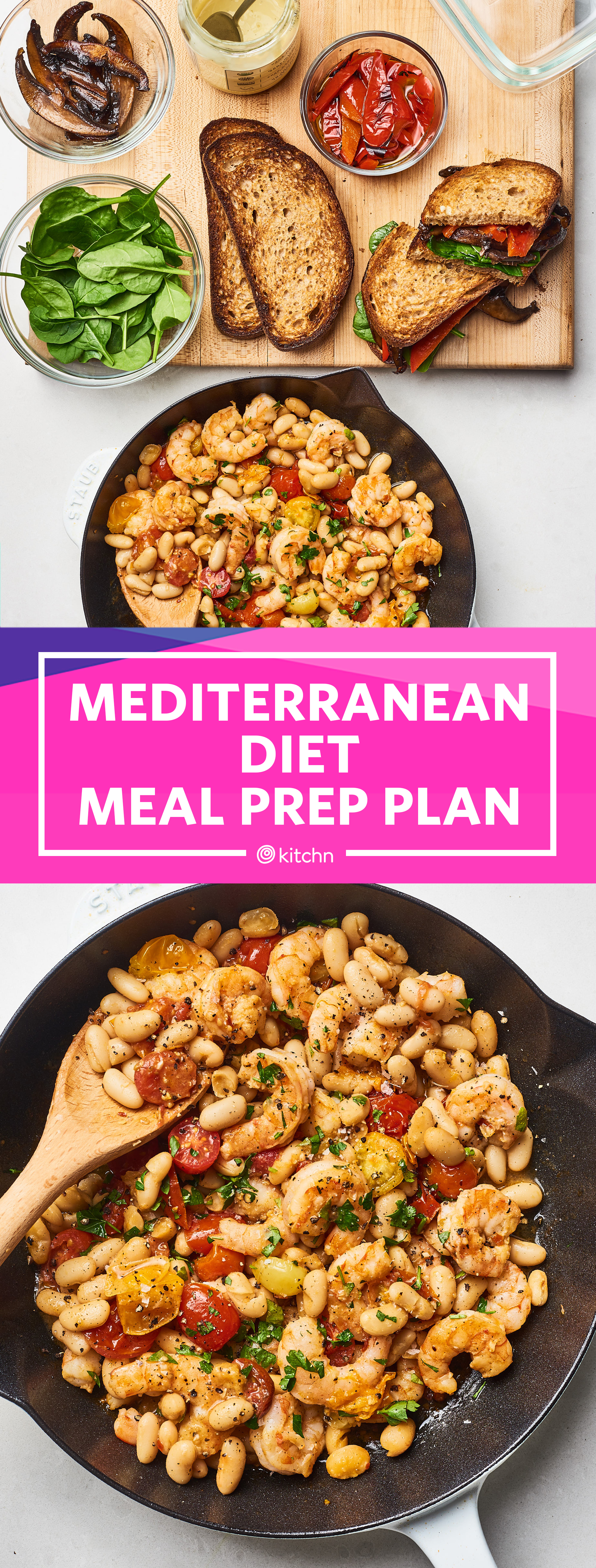 How to Prep a Week of Easy Mediterranean Diet Meals | Kitchn