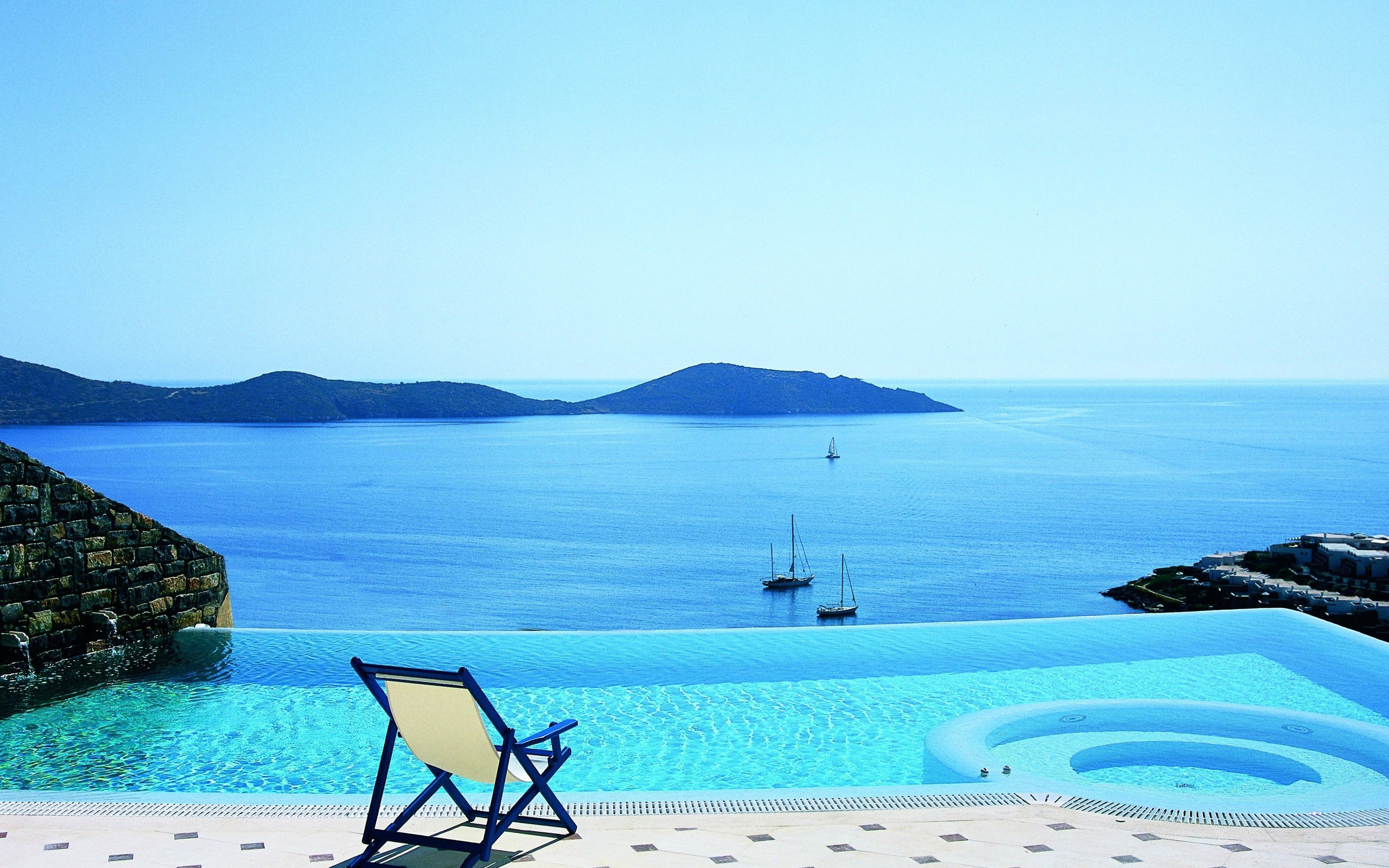 Pool-View-Elounda-Crete-Greece