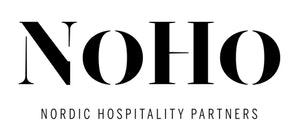 NoHo mustavalkoinen virallinen logo