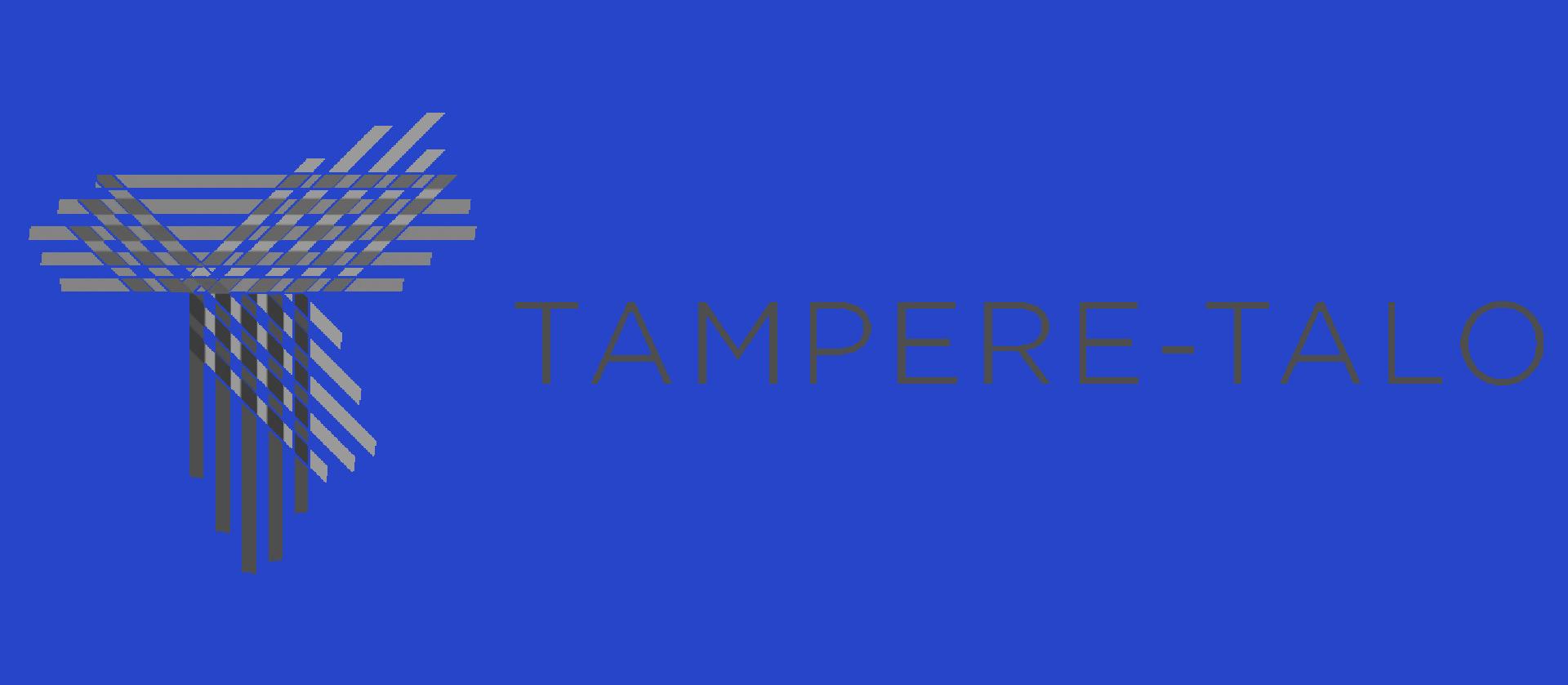 Tampere-talo logo mustavalko