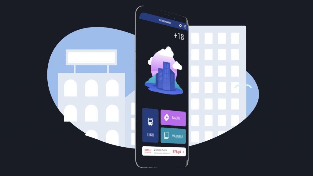 Geniem KaupunkiAppi - Smart City mobiilisovellus