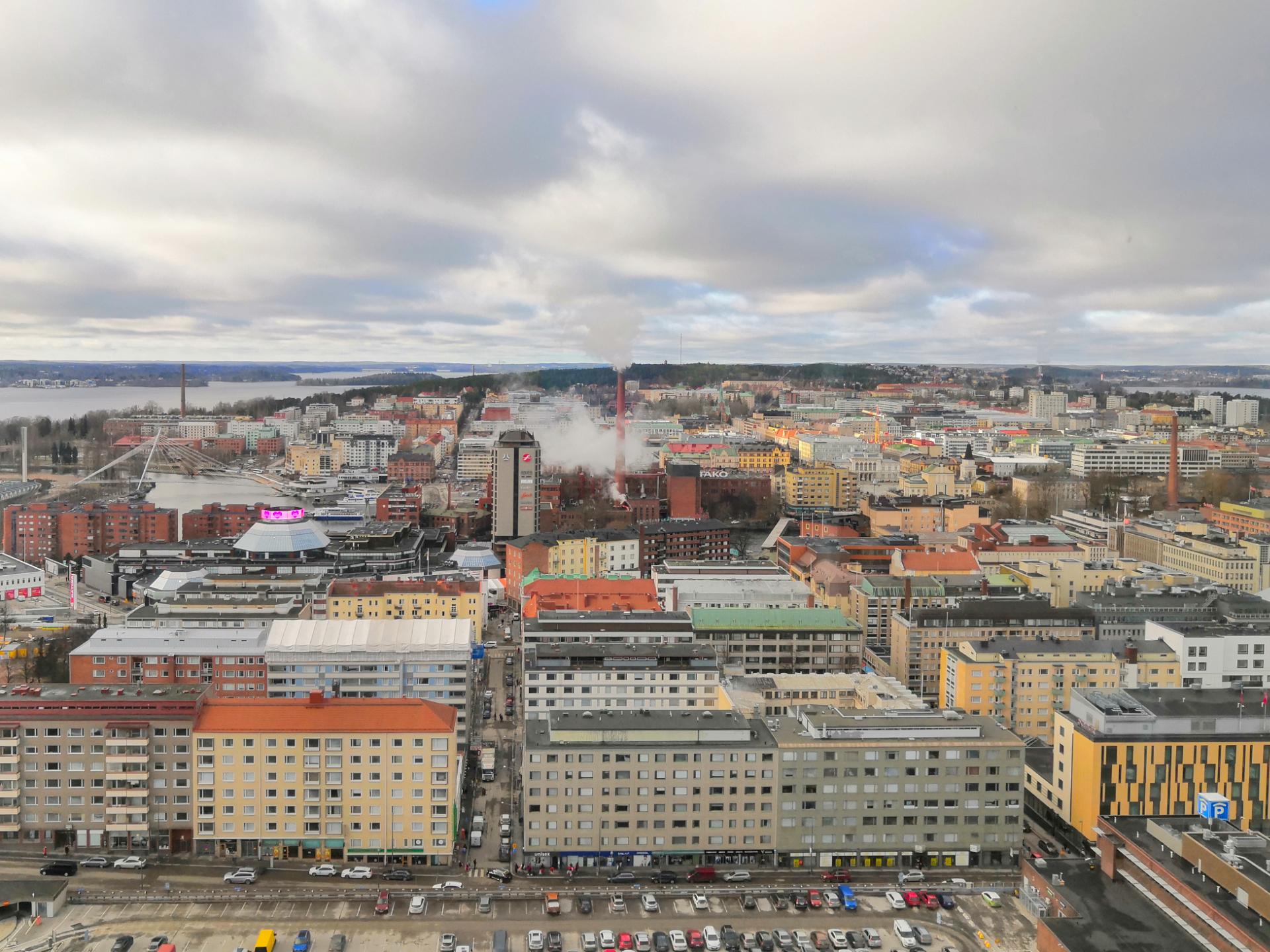 ICT Elmo Oy asiakastarinan kuvituskuva - Tampereen kaupunki