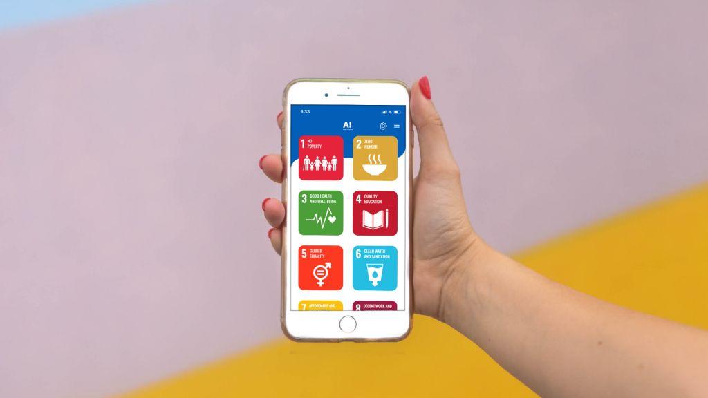 AaltoSDG-mobiilisovellus - Geniem 2020