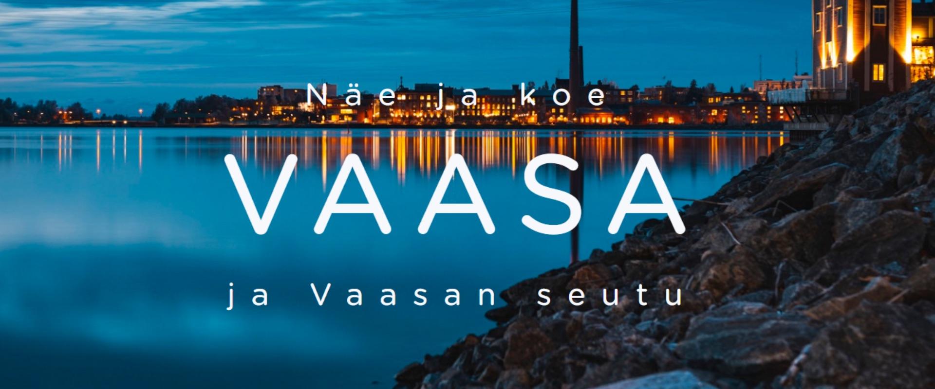 Suomen paras verkkosivusto 2020 – VisitVaasa.fi
