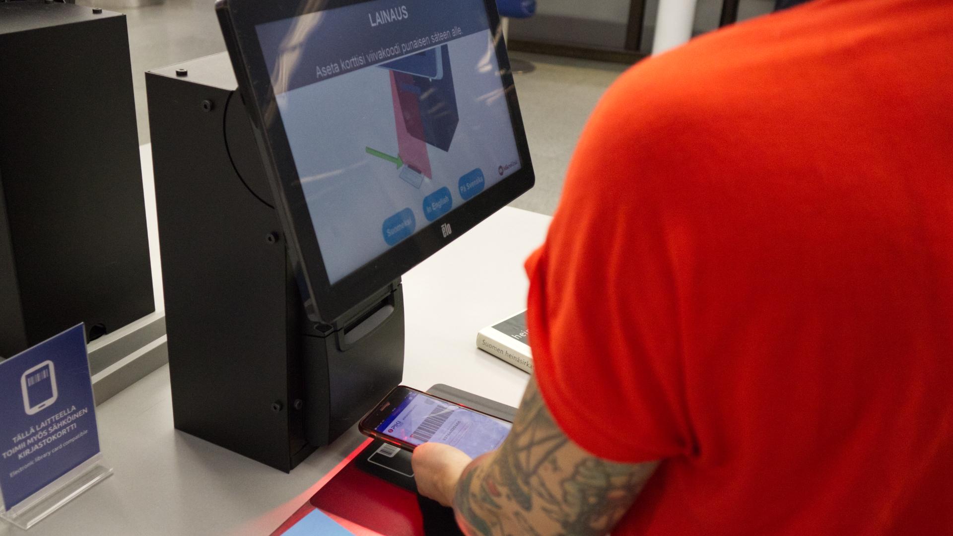 KaupunkiAppis - PiKi-kirjastokortti käytössä Tampereen Metso-kirjastossa