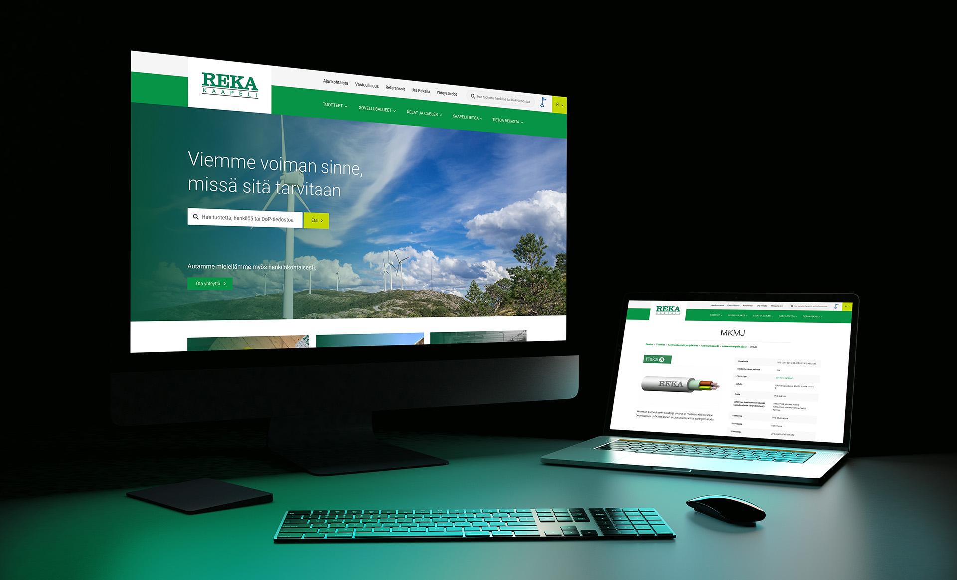 Reka.fi-verkkosivustouudistuksessa vaihdettiin julkaisujärjestelmä Drupalista WordPressiin