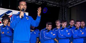 La Sampdoria si è presentata ai tifosi a Ponte di Legno