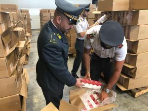 Operazione 'Fumo di Ponente': sequestrate 8 tonnellate di tabacchi di contrabbando