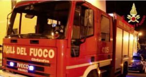 Genova, incendio abitazione a Rossiglione