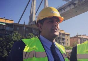 Toti: 'A due mesi esatti dal crollo del Ponte Morandi c'è ancora molto da fare'