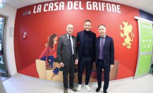 Il Genoa inaugura la 'Casa del Grifone' al Gaslini