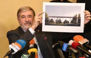 Ponte Morandi, Bucci: 'Il progetto non cambia'